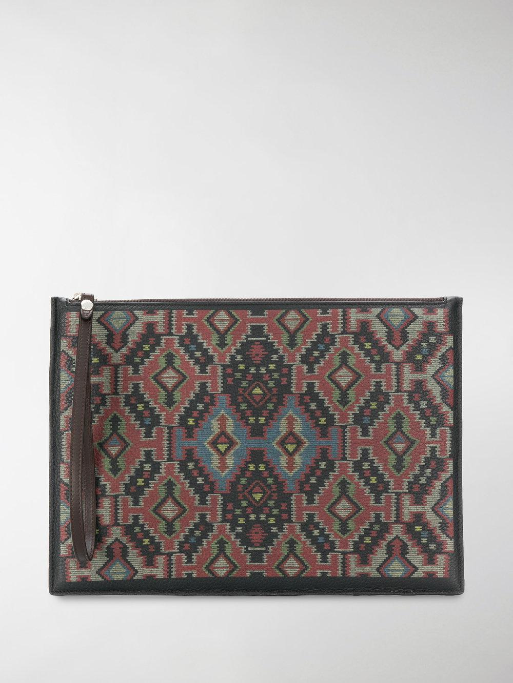 Etro Graphic print pouch On Hot Sale fuajiv6T