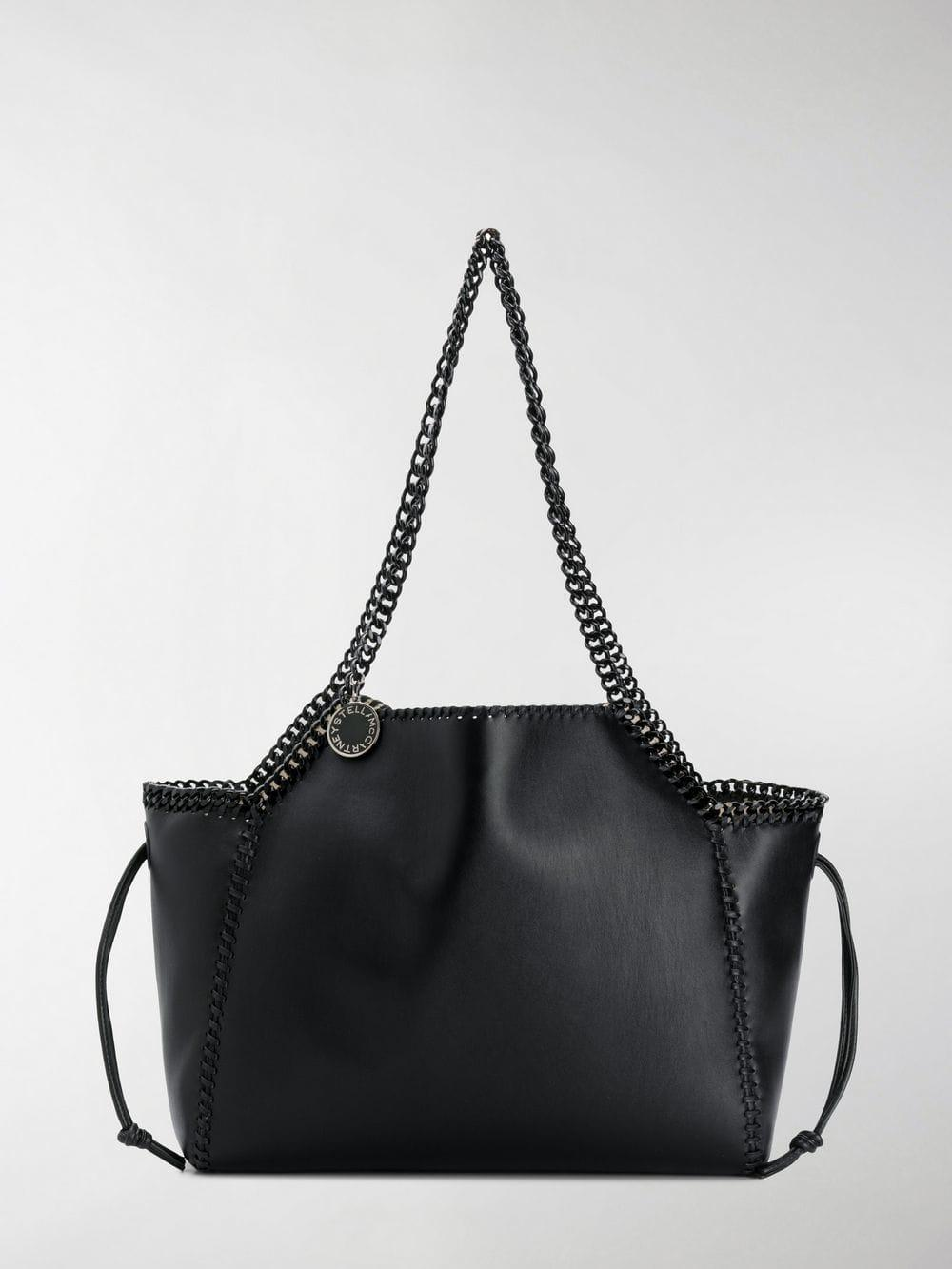 4b4f6c2c3d90 Lyst - Stella McCartney Large Falabella Tote Bag in Black