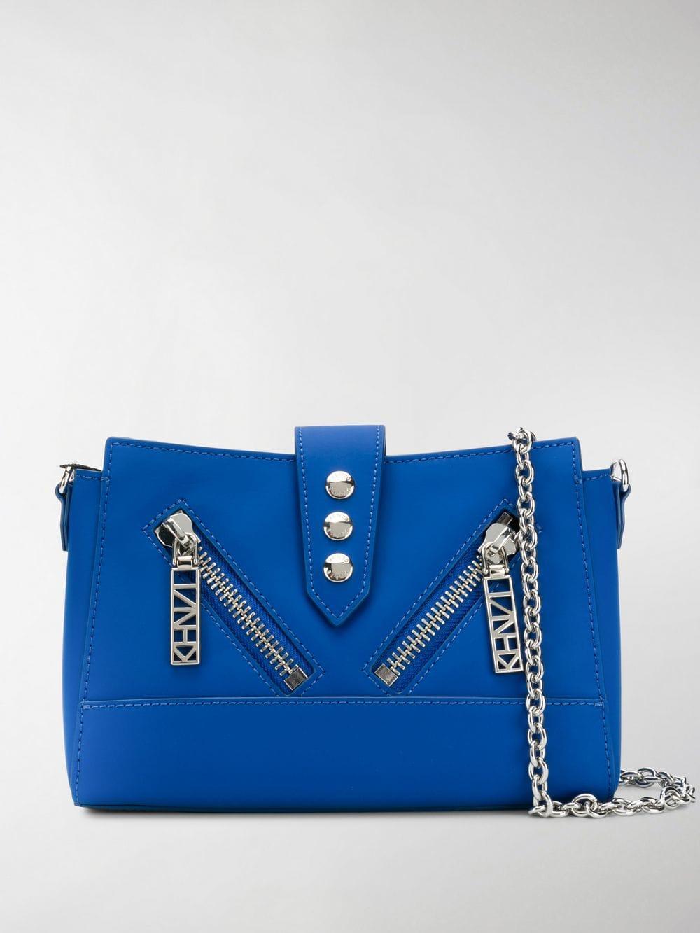 62f23b1e41 KENZO Tiny Kalifornia Crossbody Bag in Blue - Lyst