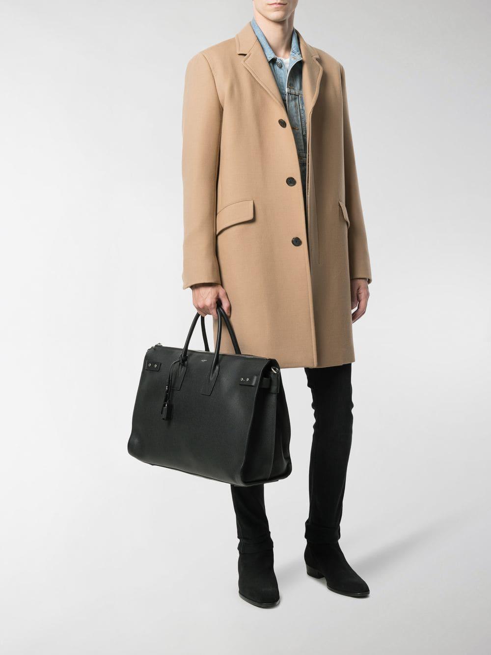 Lyst - Saint Laurent Large Sac De Jour Bag in Black for Men bf7511138d454