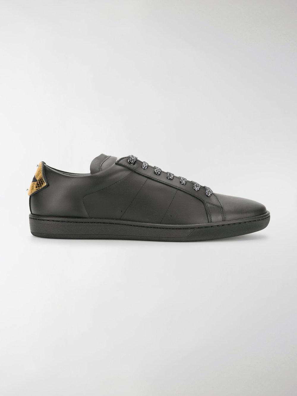 Saint Laurent Rivington SL Patch Sneakers exclusive cheap online Fx7aQB9kye