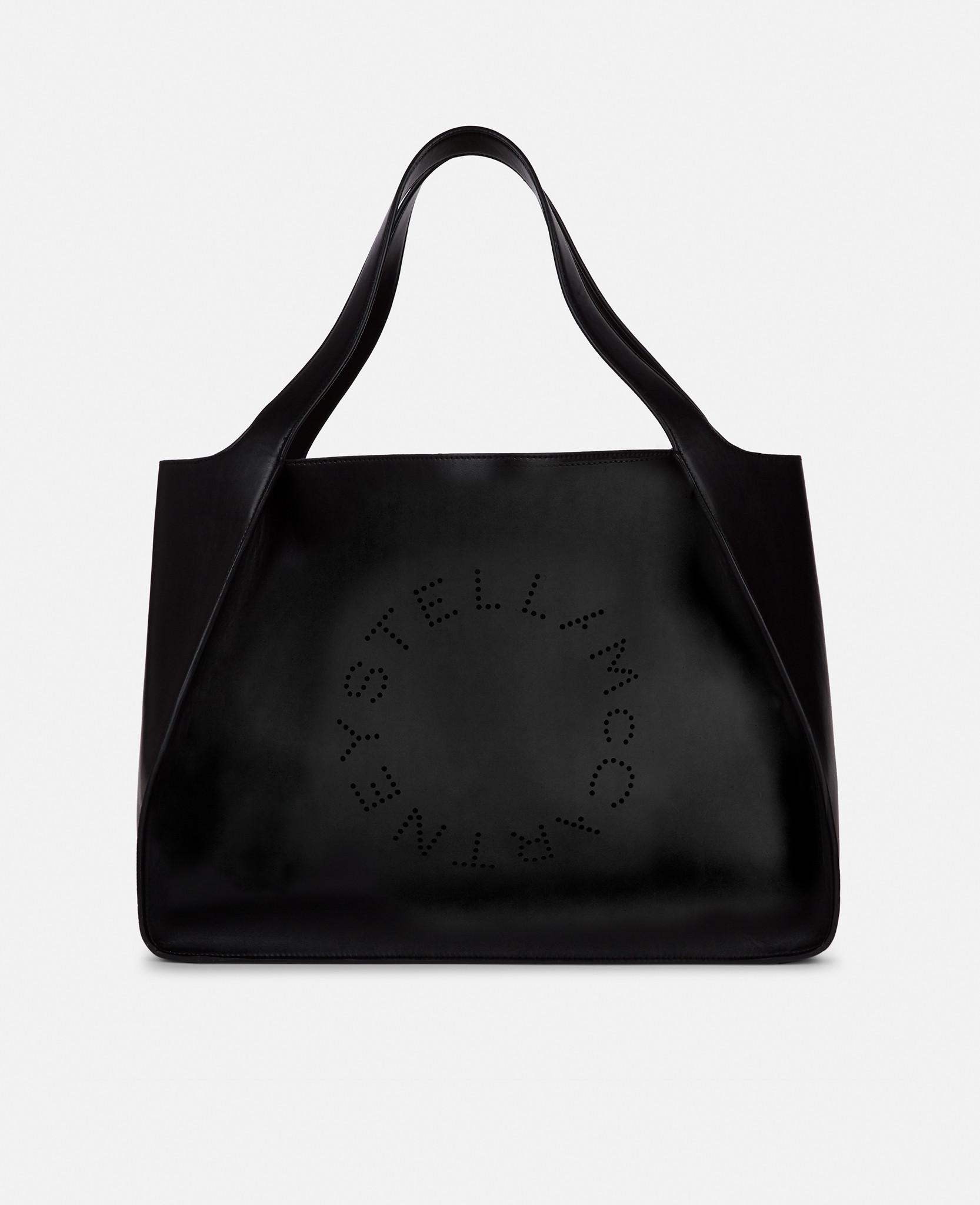 ac5c2b2188e5 Lyst - Stella McCartney Stella Logo Tote Bag in Black