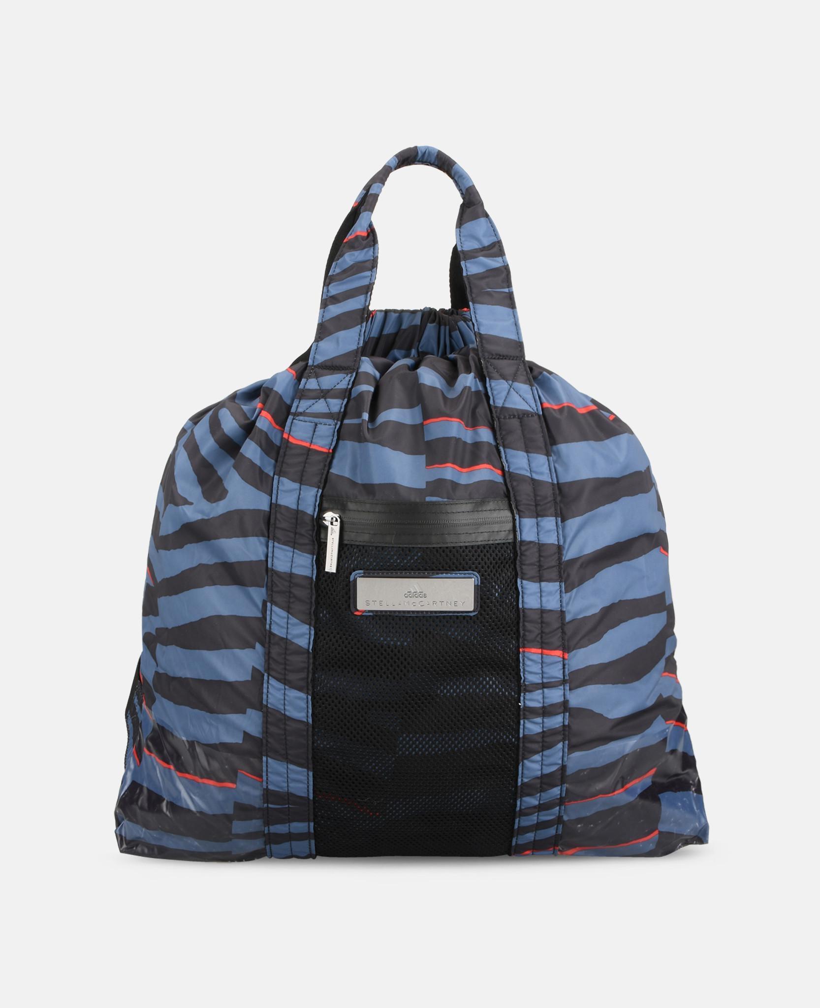 02cfc81a9c adidas By Stella McCartney Gunmetal Gym Bag Multi in Black - Lyst