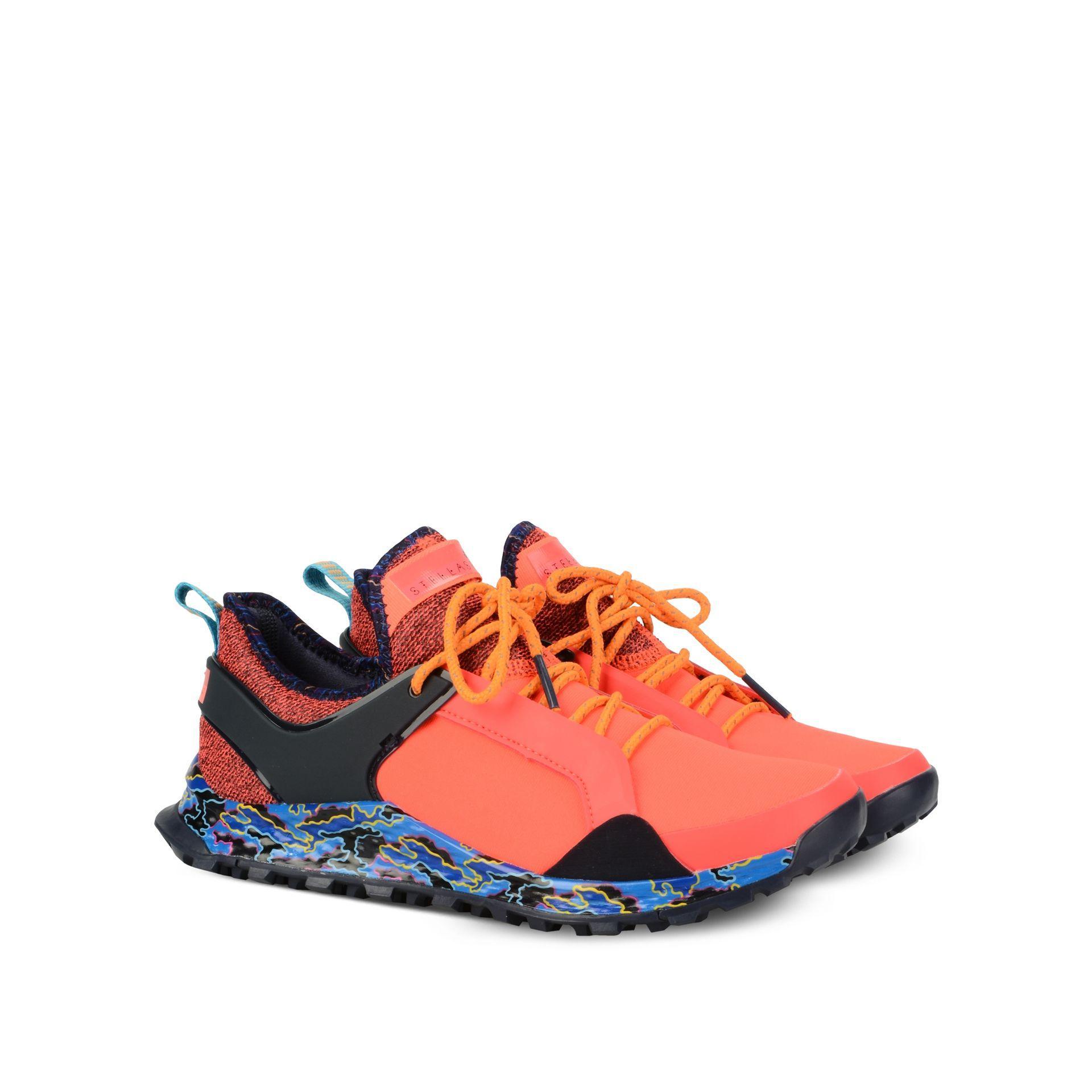047548a30f2 Lyst - adidas By Stella McCartney Red Aleki X Running Shoes in Red