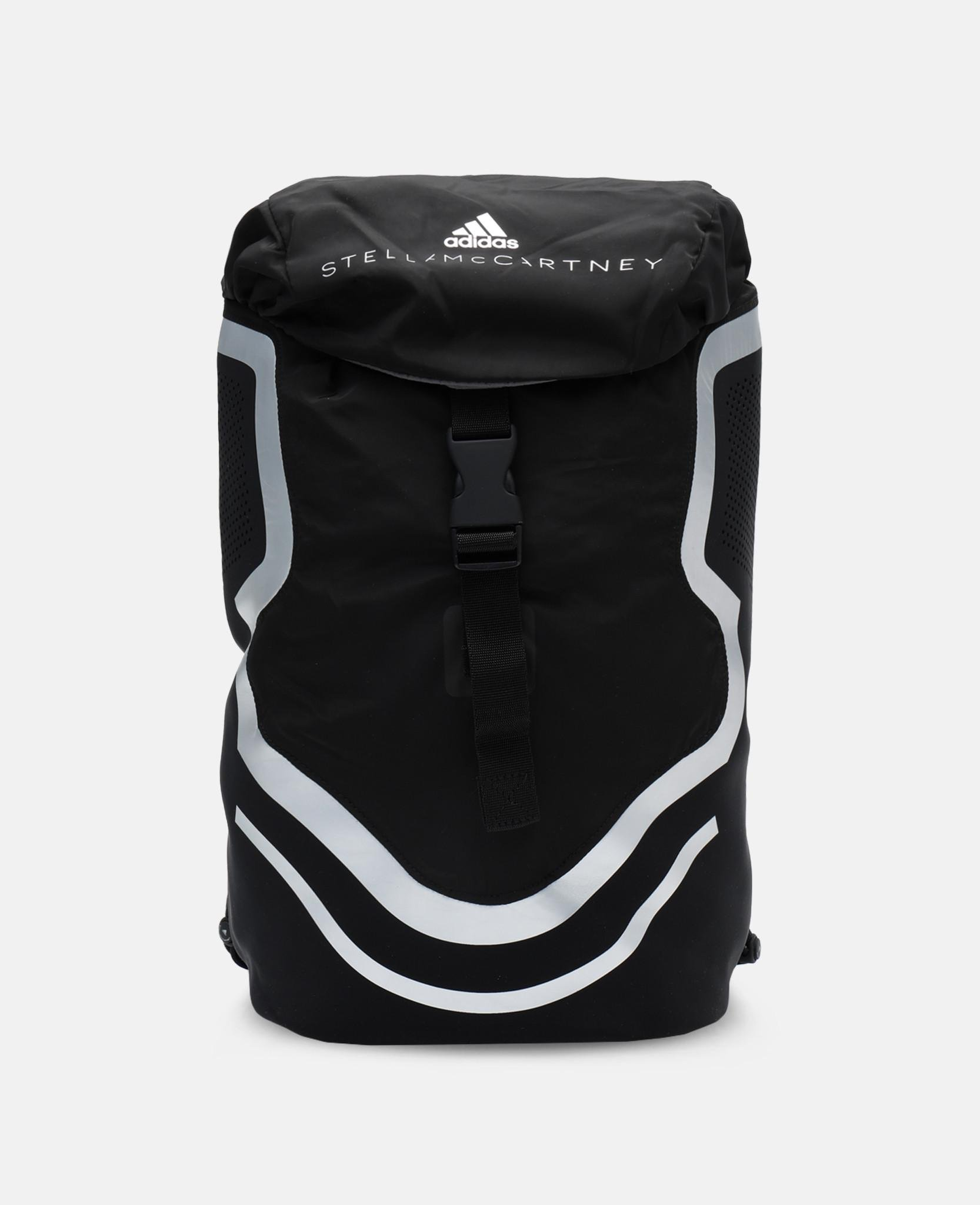 5a92d7bdd6b Lyst - adidas By Stella McCartney Black Running Backpack in Black