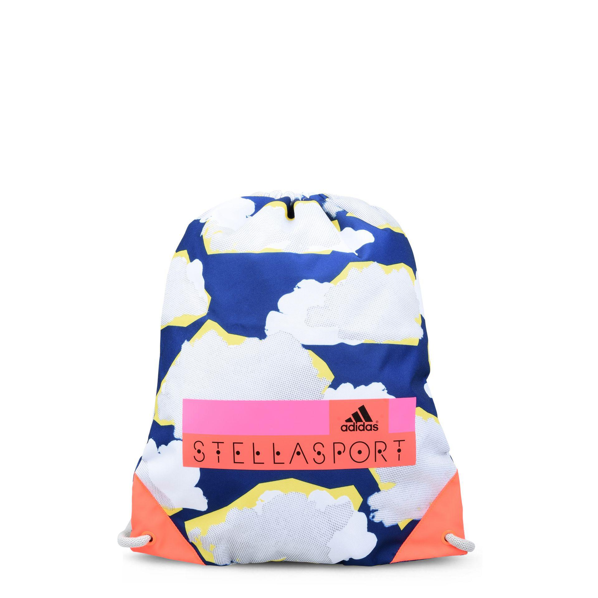 Lyst - adidas By Stella McCartney Cloud Print Gym Bag in Blue 467e3f7fdeb93