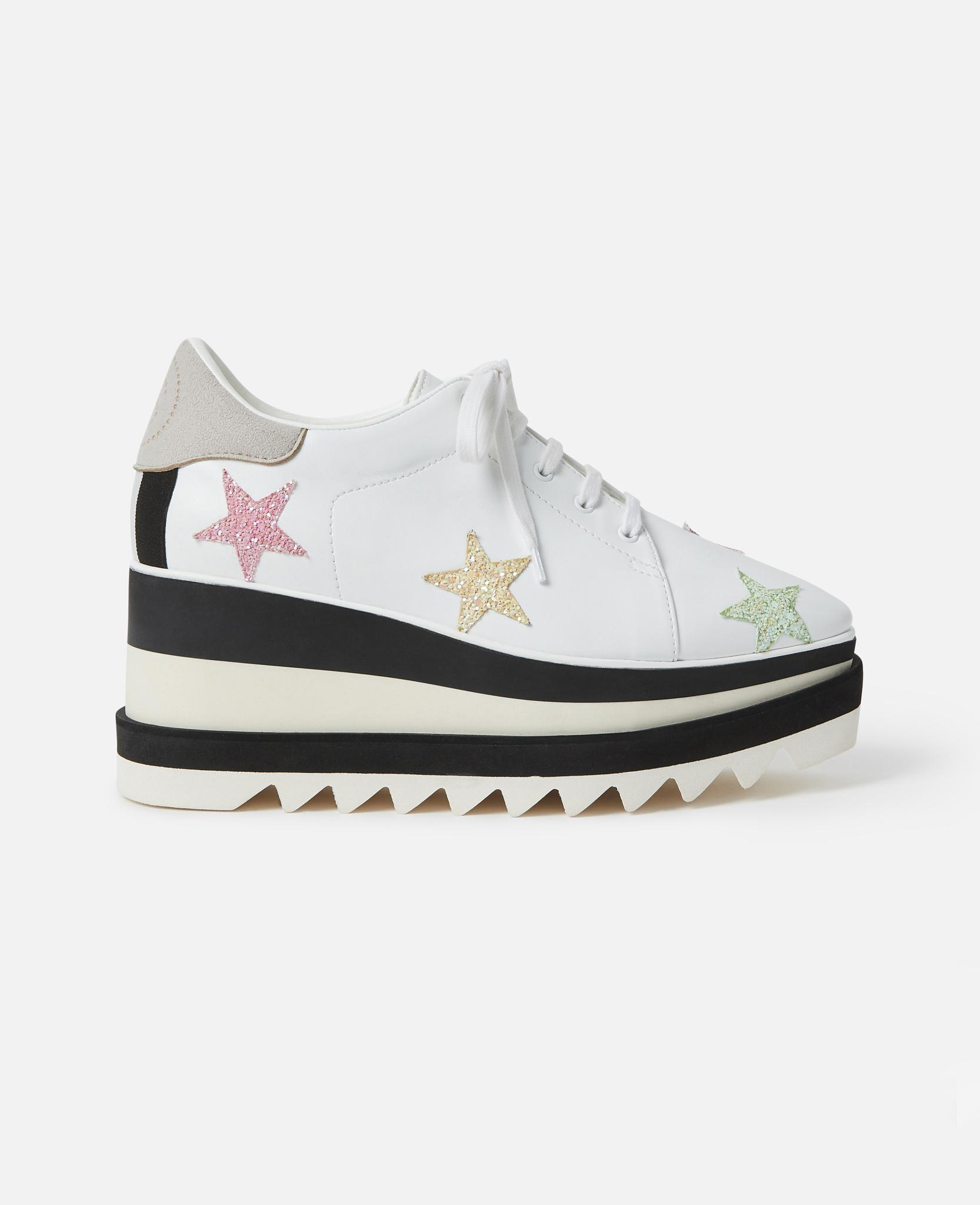 00c05e9bea5b Lyst - Stella McCartney Sneak-elyse Pastel Stars in White