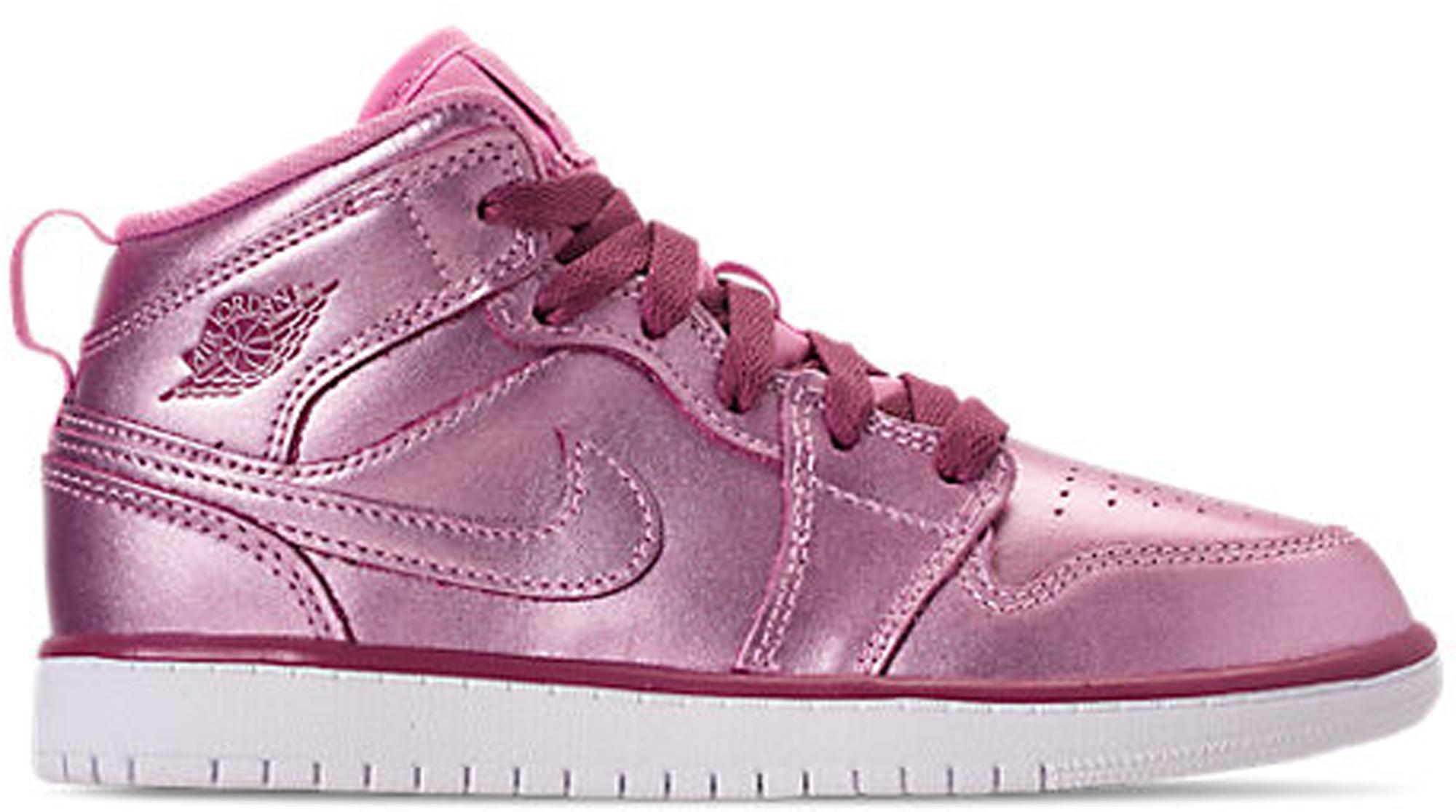 ea89cad53f4e Lyst - Nike 1 Mid Pink Rise (ps) in Pink