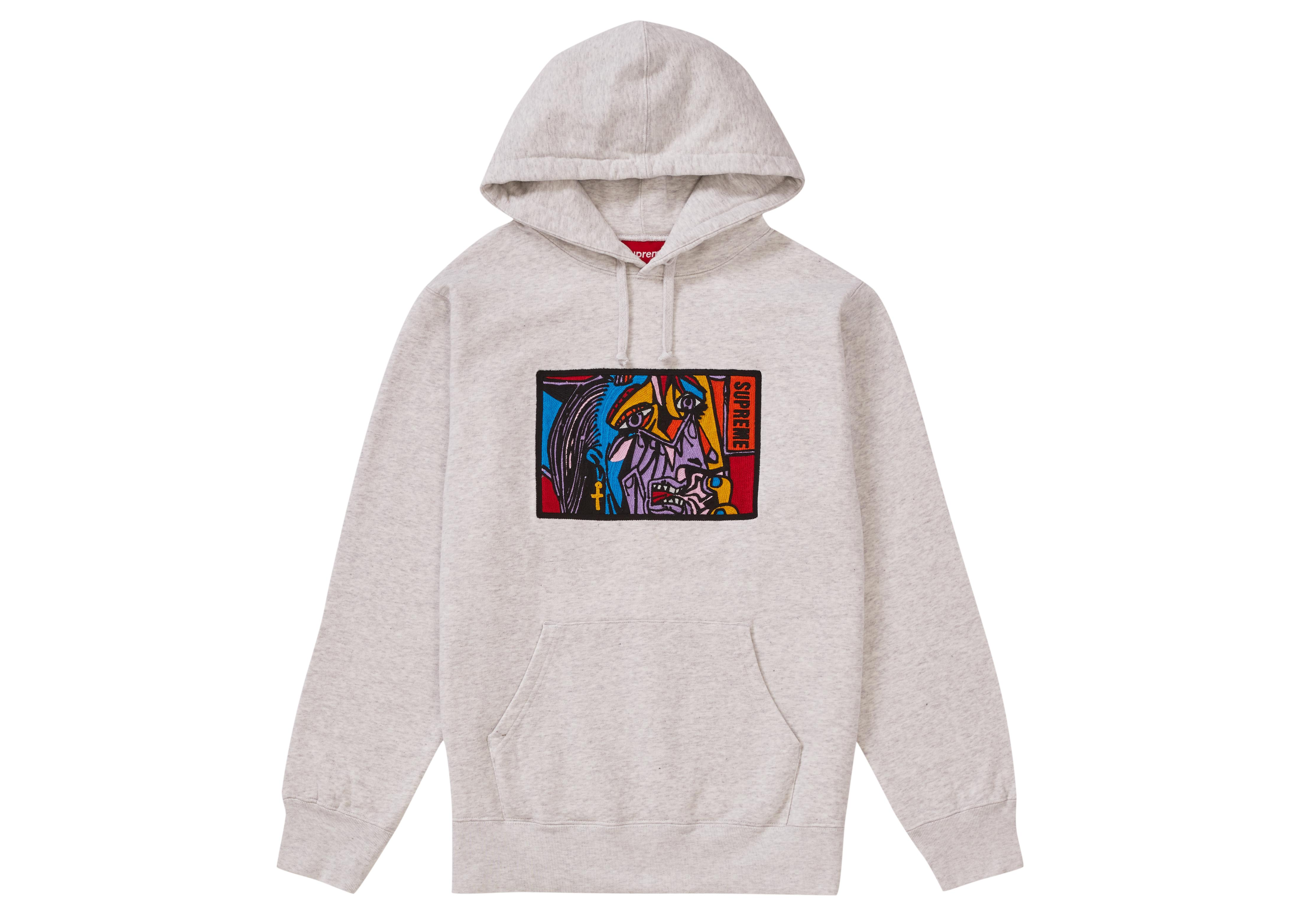 a38beb49 Tap to visit site. Supreme Gray Chainstitch Hooded Sweatshirt Ash Grey for  men