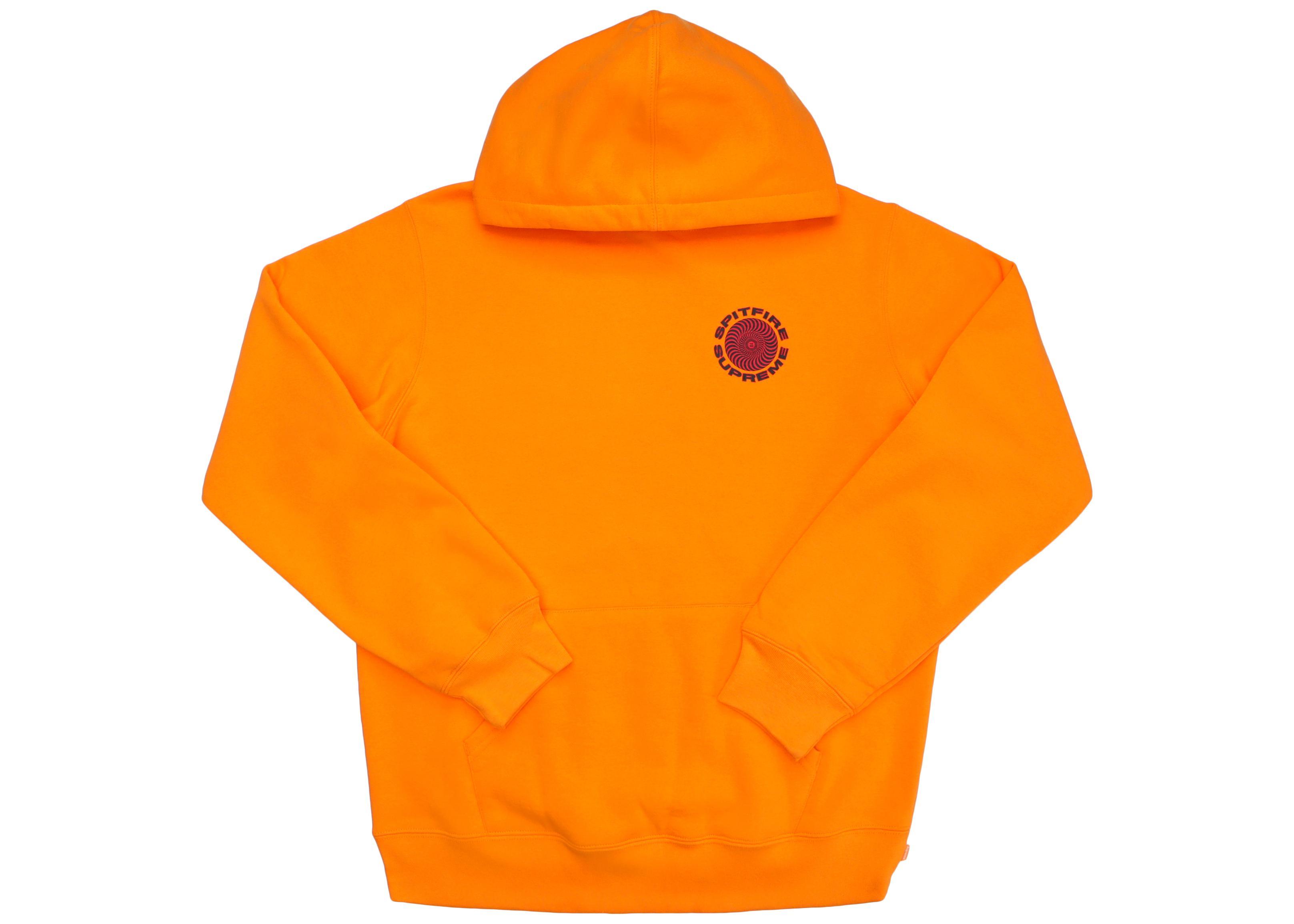 2de4bf599798 Lyst - Supreme Spitfire Hooded Sweatshirt Bright Orange in Orange ...