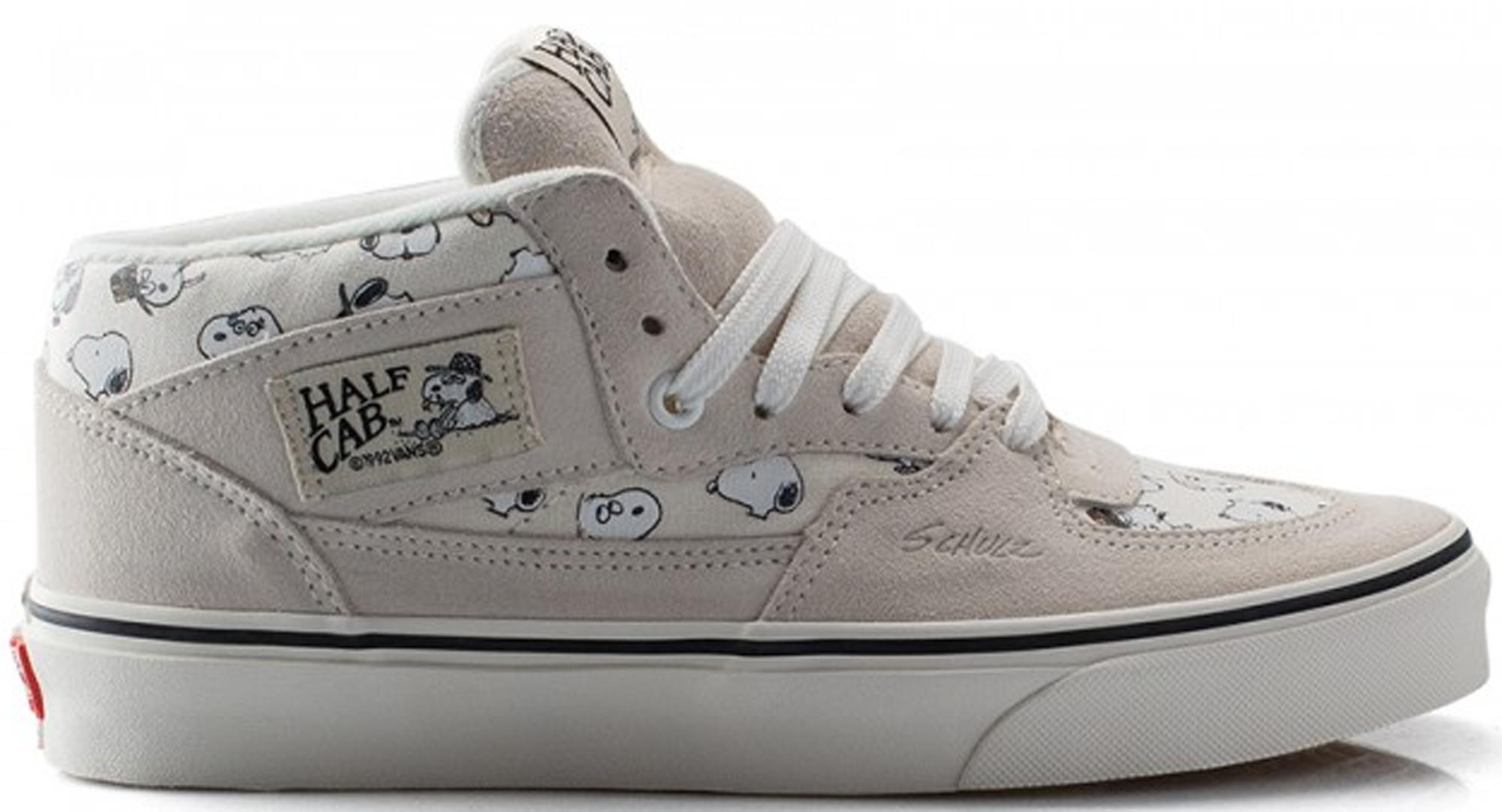 a36fc49ff1dc86 Lyst - Vans Half Cab Peanuts Snoopy Family in Gray for Men