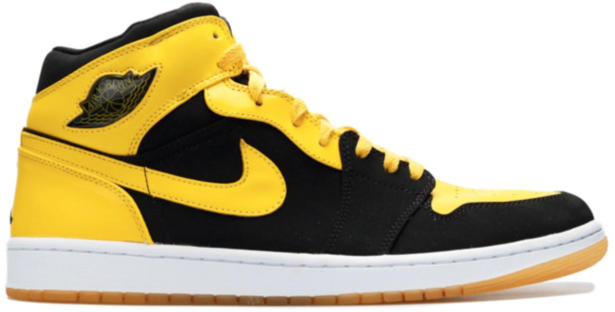 new product 7545e d4b14 Nike. Yellow 1 Retro Beginning Moments Pack (bmp) New Love