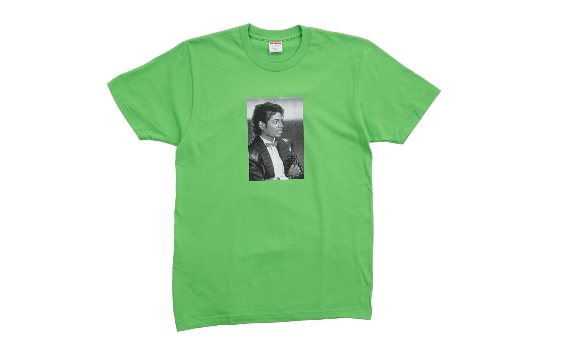 dfdb48d42cf Supreme - Michael Jackson Tee Lime Green for Men - Lyst. View fullscreen