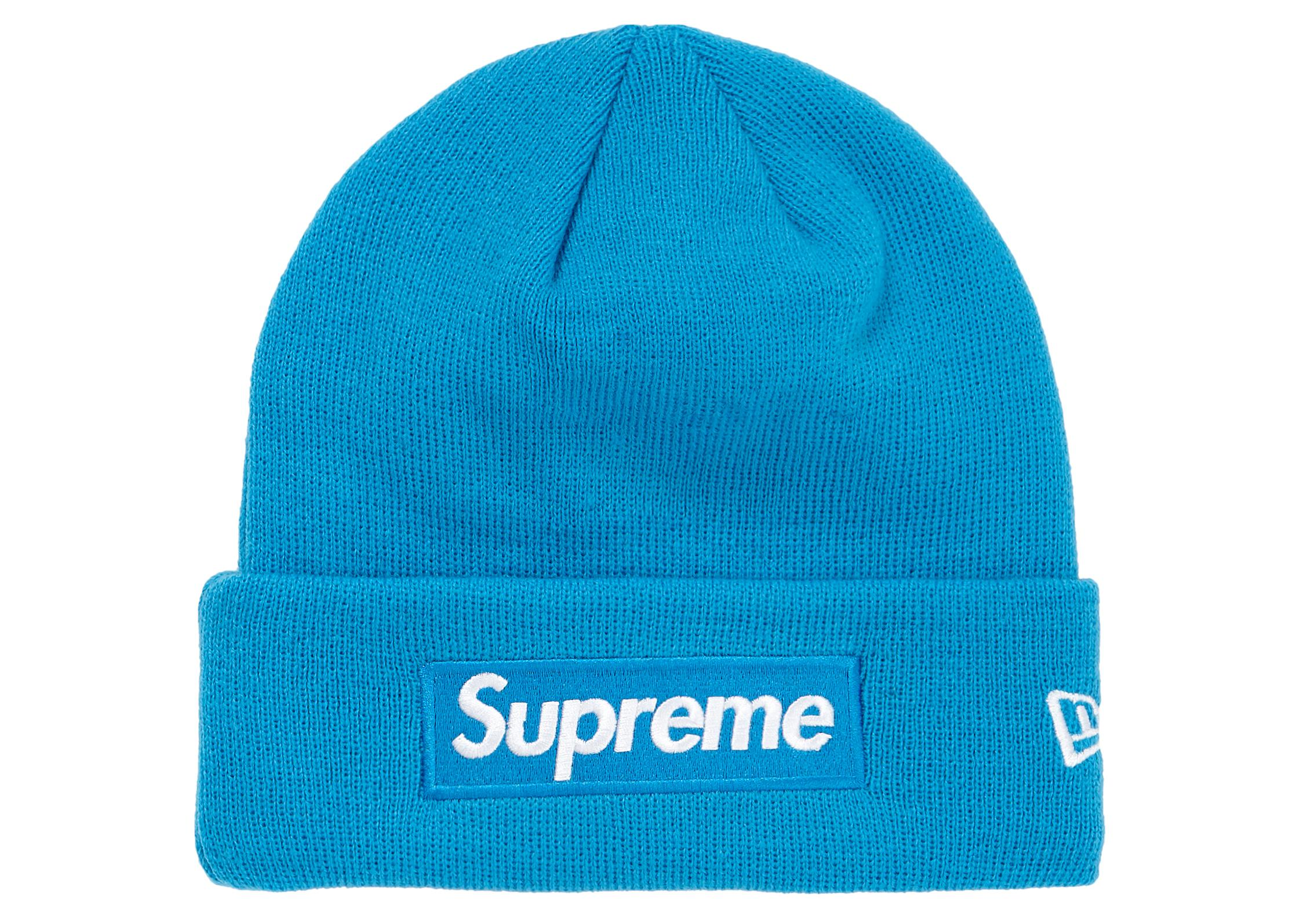 Supreme - Blue New Era Box Logo Beanie (fw18) Bright Royal for Men -. View  fullscreen 925e67c95160