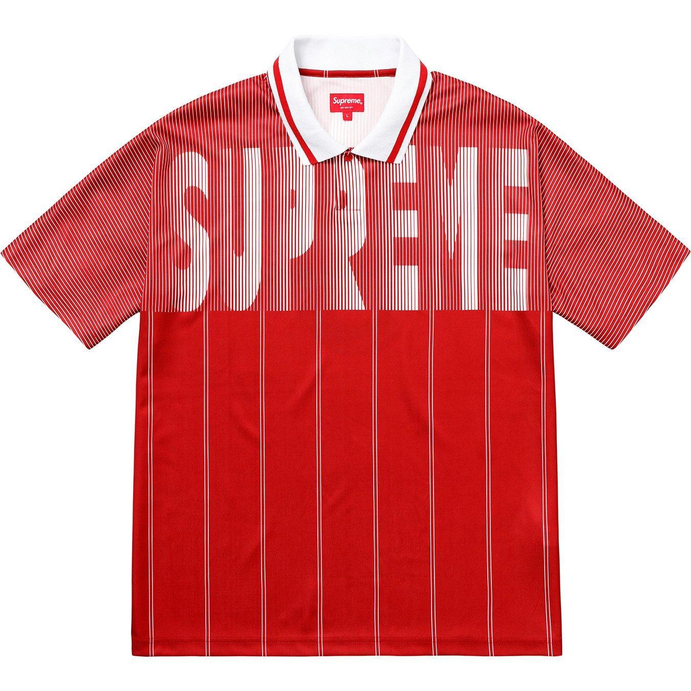 2ae4d82752e Supreme - Soccer Polo Red for Men - Lyst. View fullscreen