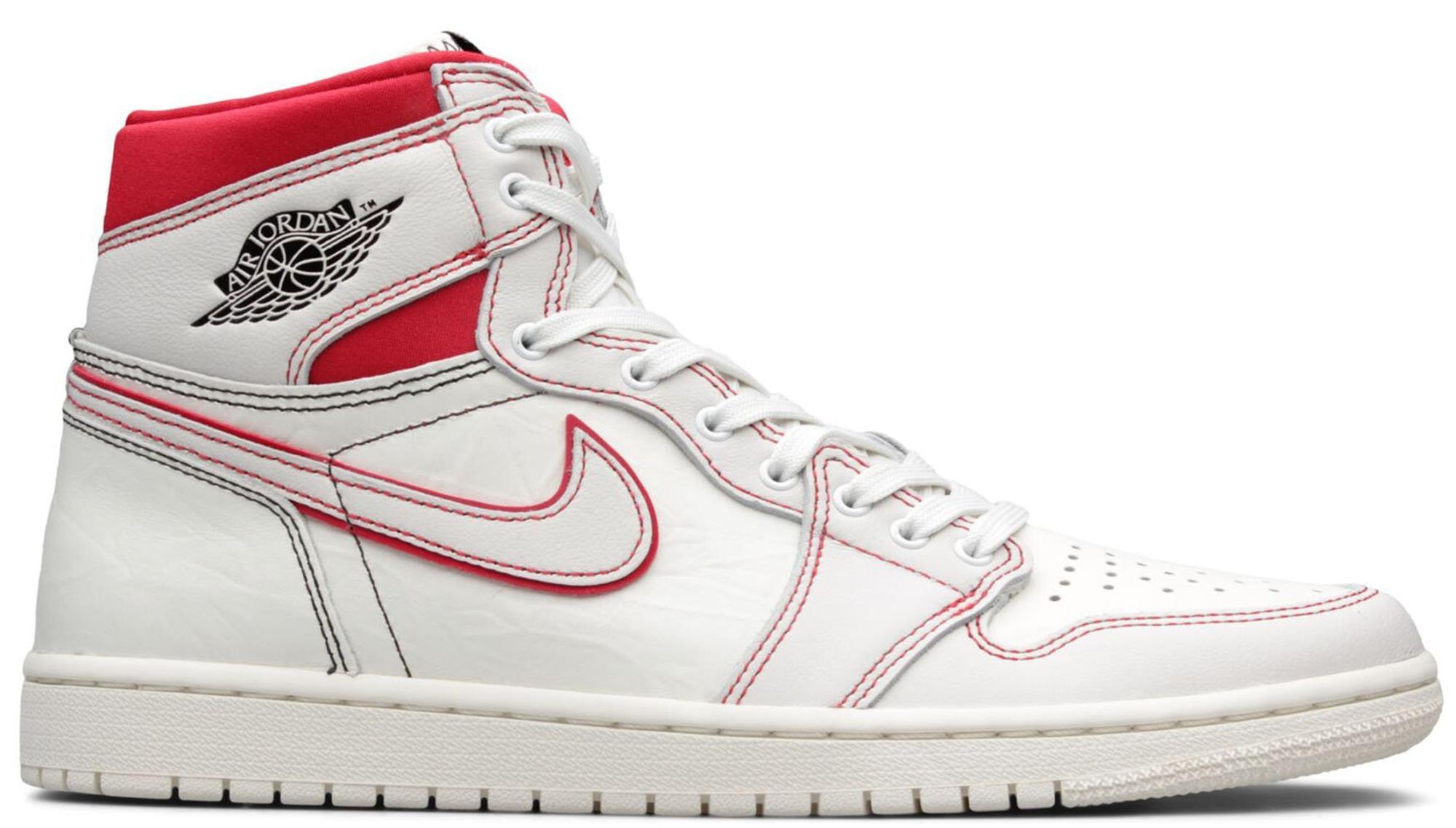 b500246b Lyst - Nike 1 Retro High Phantom Gym Red (gs) for Men