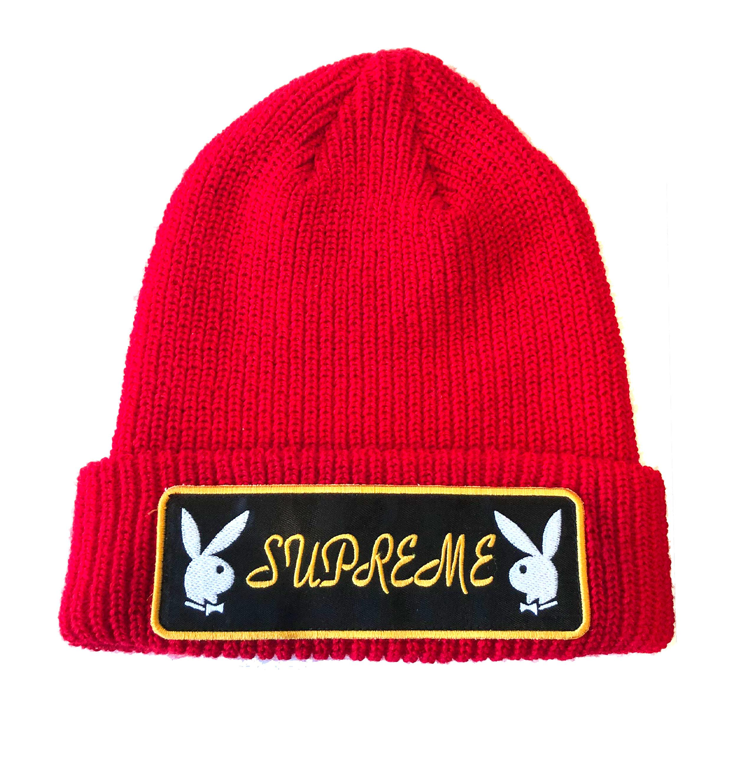 2f277175 Supreme Playboy Beanie Red in Red for Men - Lyst