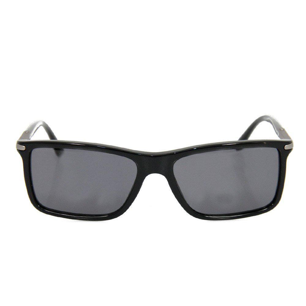 79254c8c69a ... Giorgio Armani Rectangular Black Sunglasses for Men - Lyst. View  fullscreen