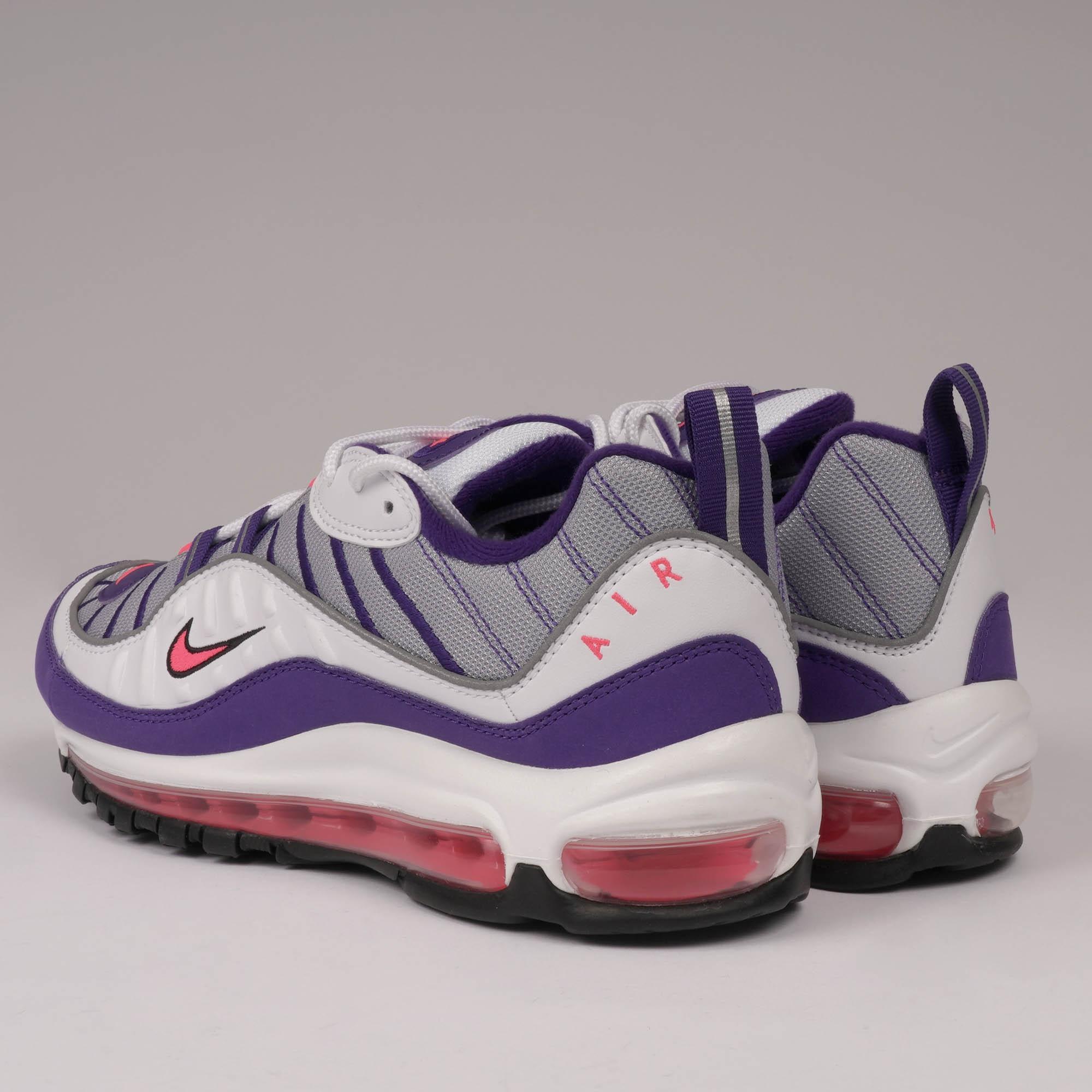 best service e9956 d4b18 Nike - Air Max 98 - White  Racer Pink for Men - Lyst. View fullscreen