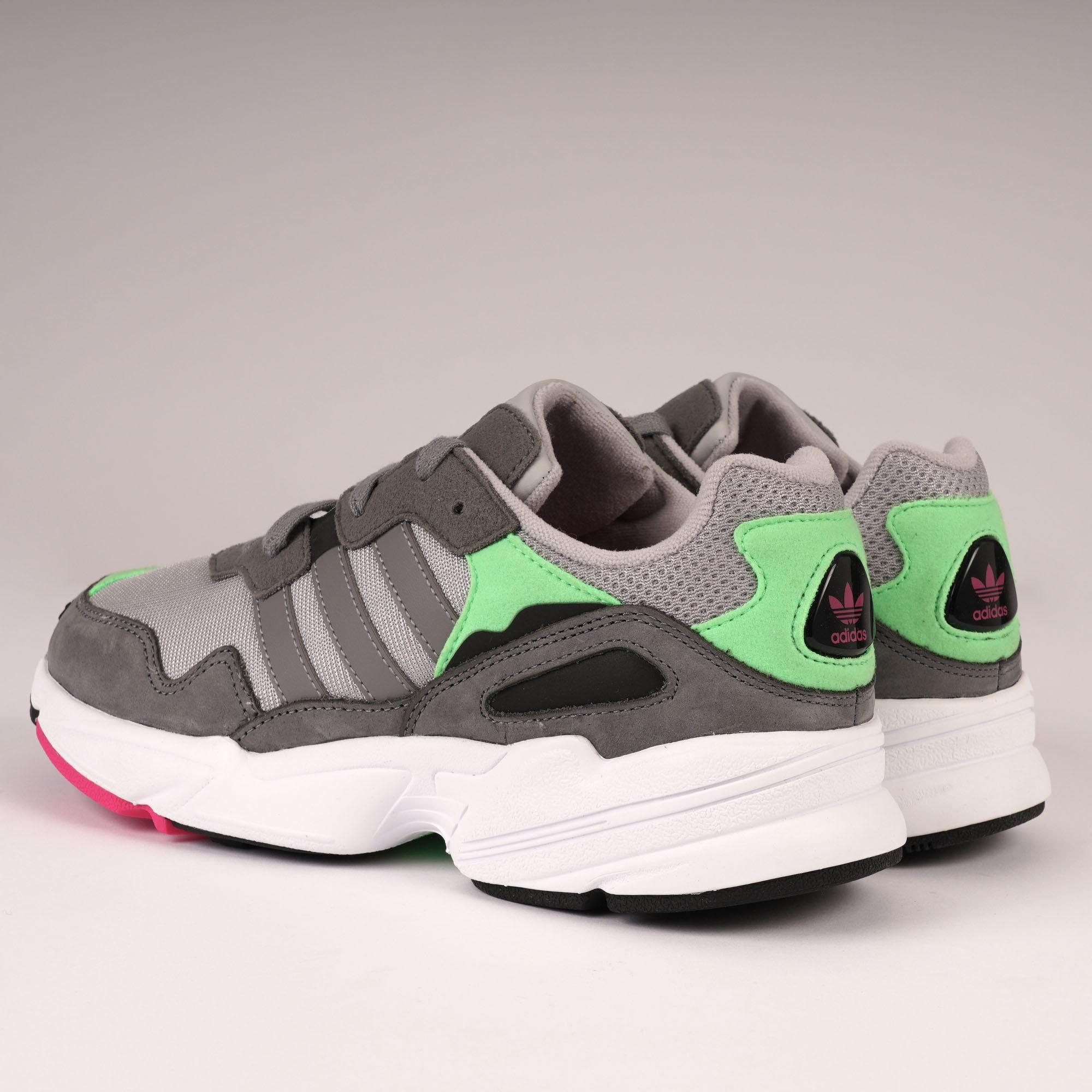 411db2885bdf21 Adidas Originals - Gray Yung-96 - Grey Two