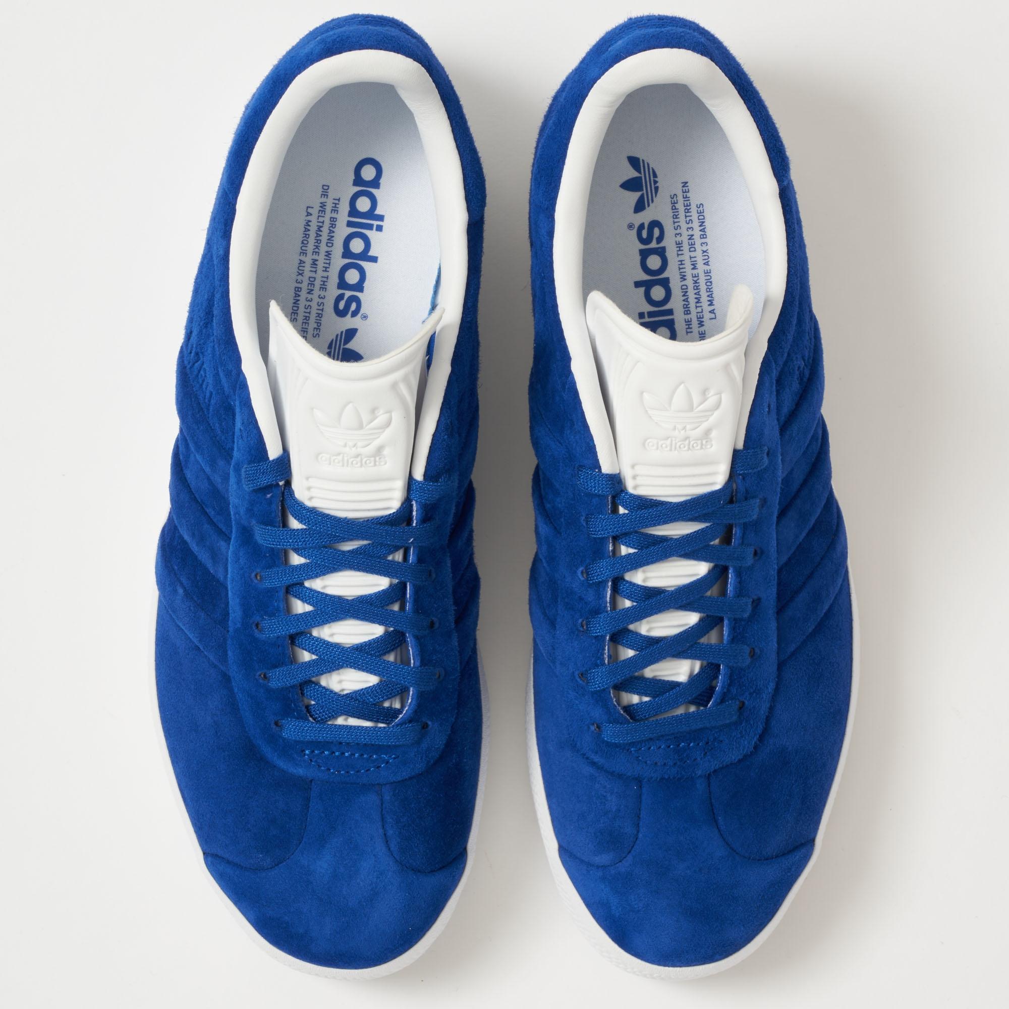 02455b0f8ec79 Lyst - adidas Originals Gazelle Stitch And Turn - Collegiate Royal ...