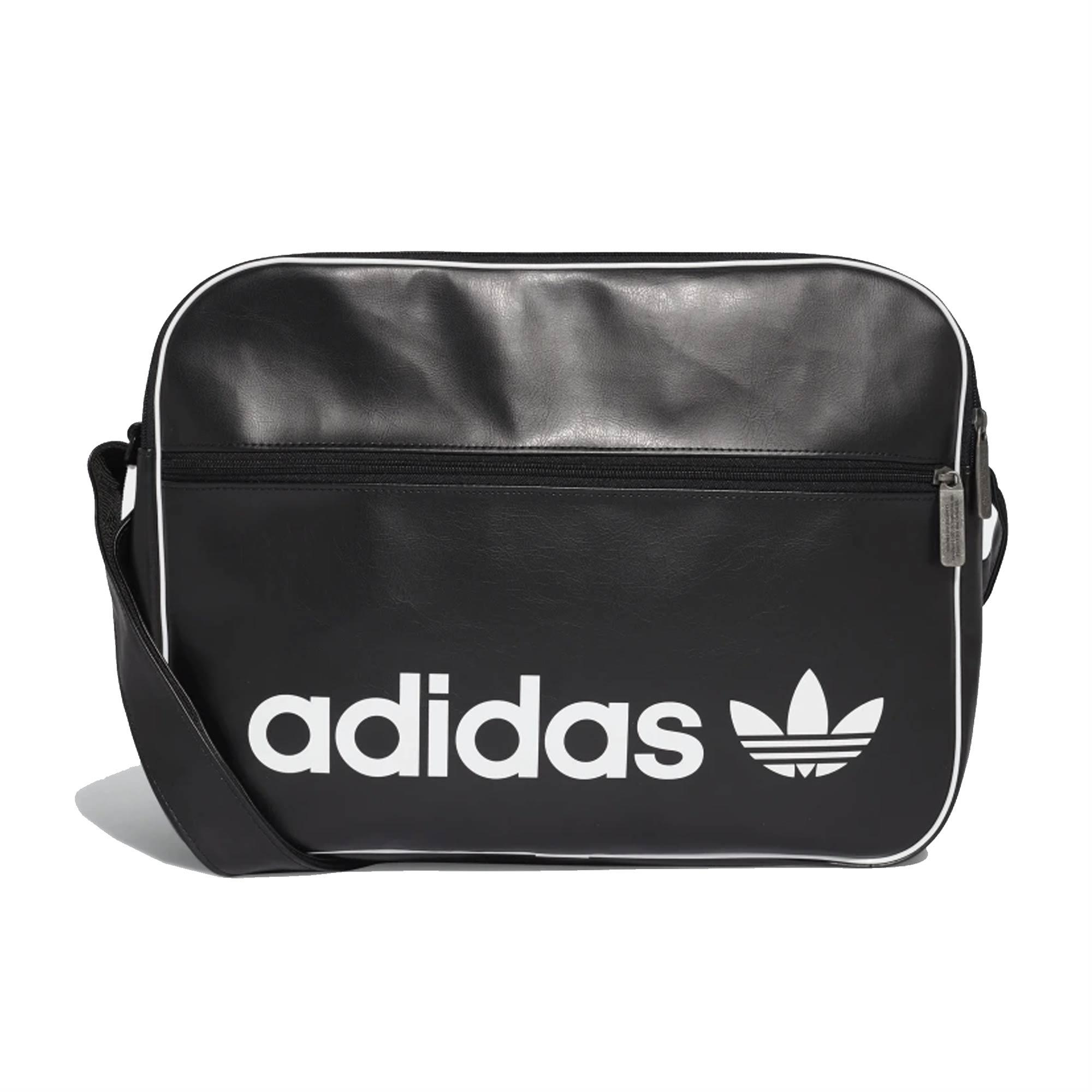 a74f1bc540 Lyst - adidas Originals Vintage Airliner Bag - Black in Black for ...