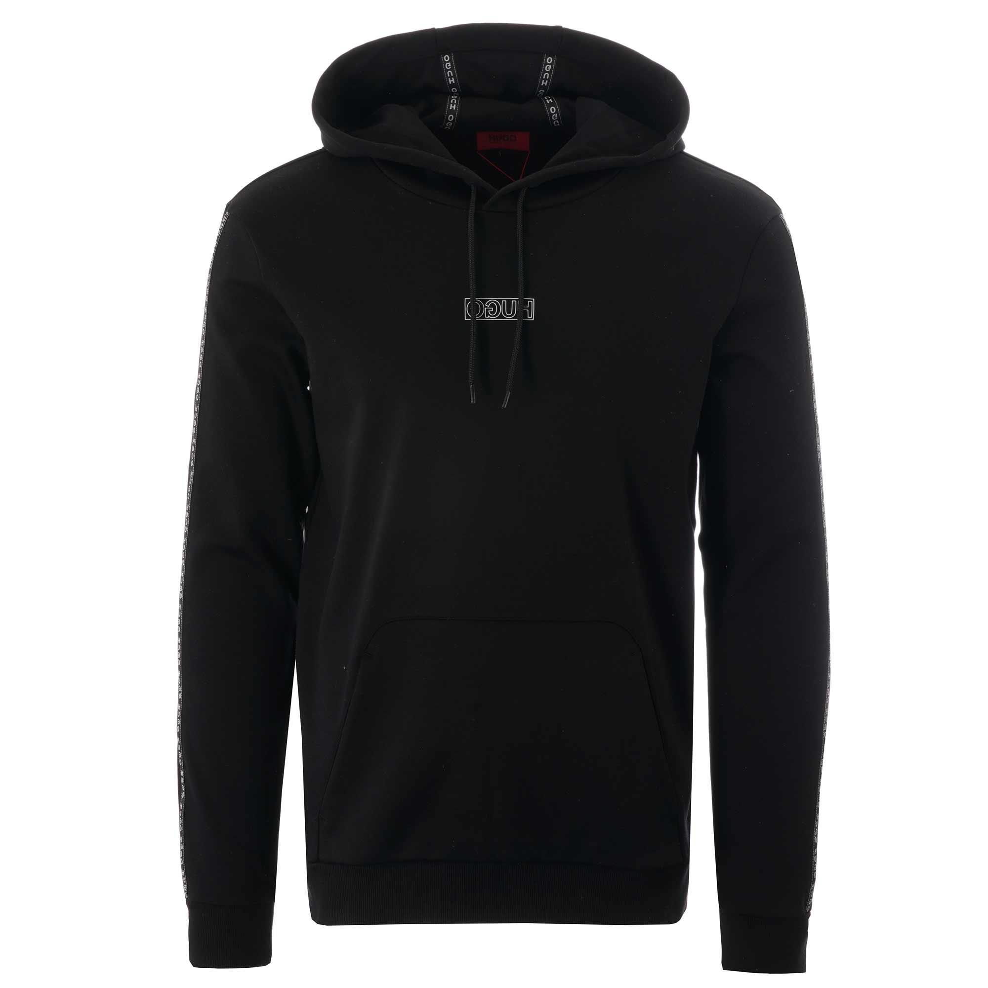 d4bb2180cd74c BOSS Dercolando Hoodie - Black in Black for Men - Lyst