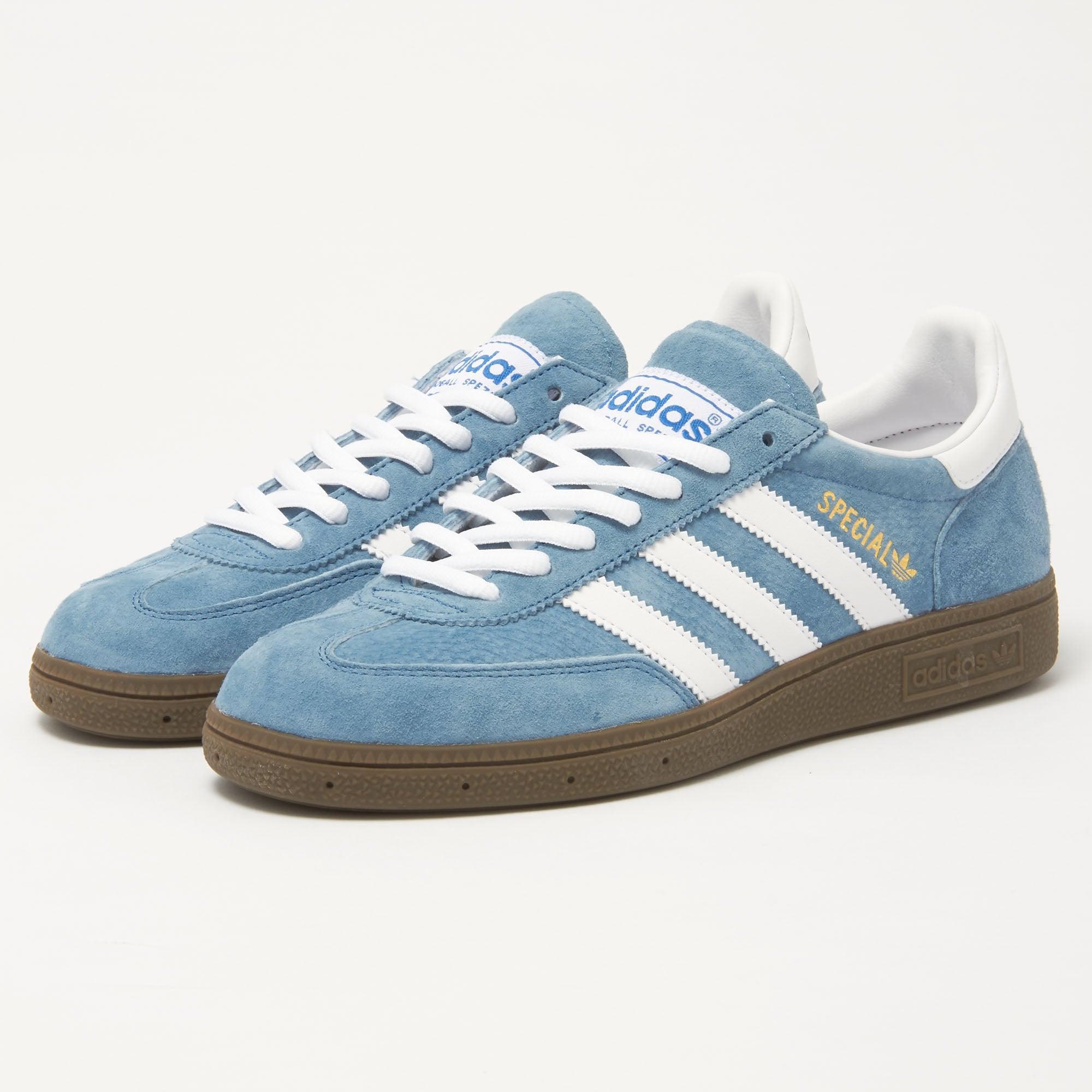 new style 0a1d3 1cfcb Lyst - adidas Originals Adidas Handball Spezial Blue Sneaker
