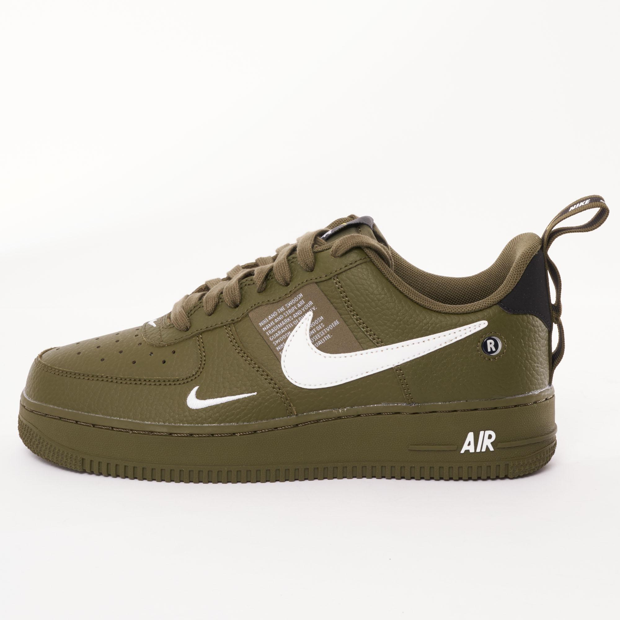 Nike Green Air Force 1 Utility Trainers for men