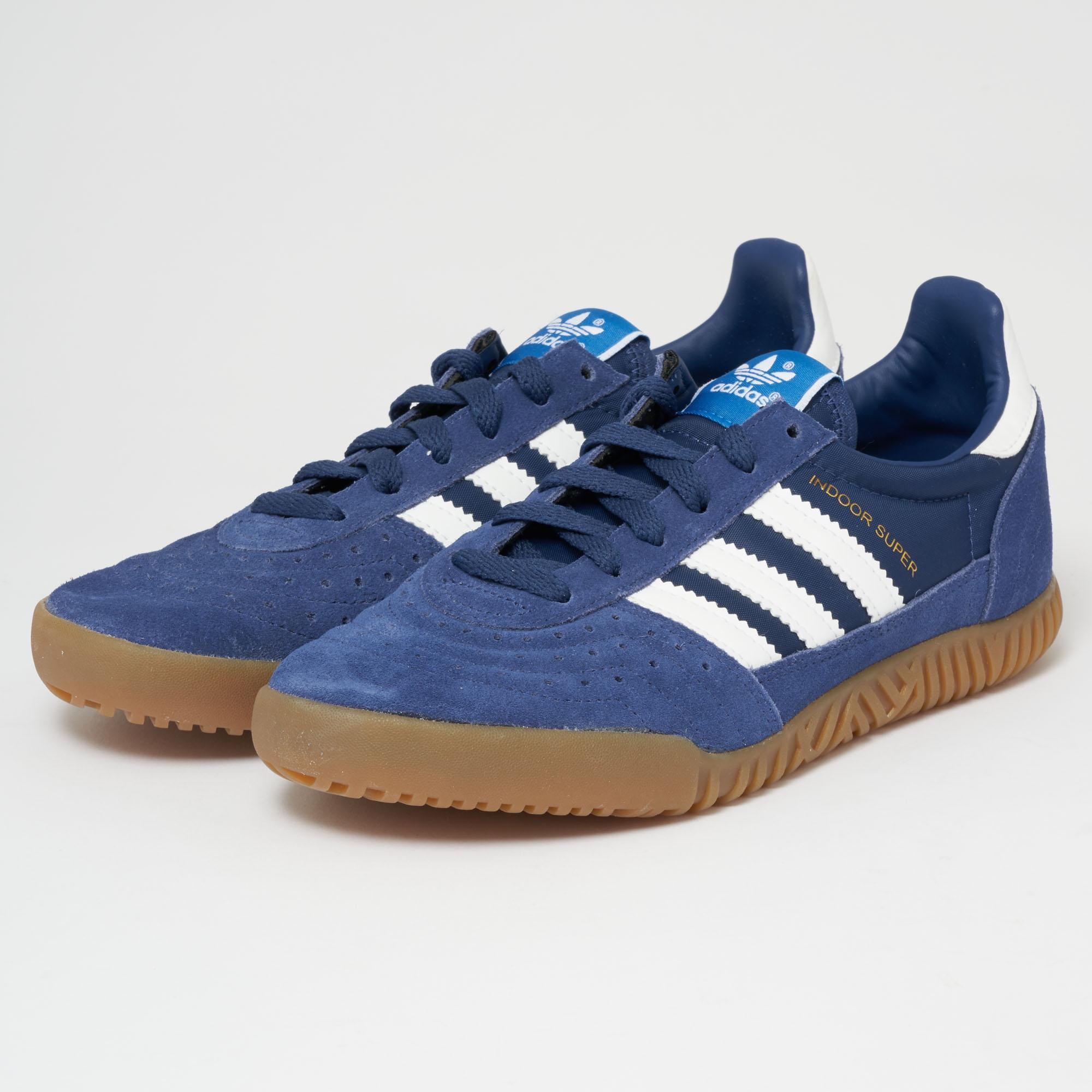 71165f05f3a Lyst - adidas Originals Indoor Super - Indigo