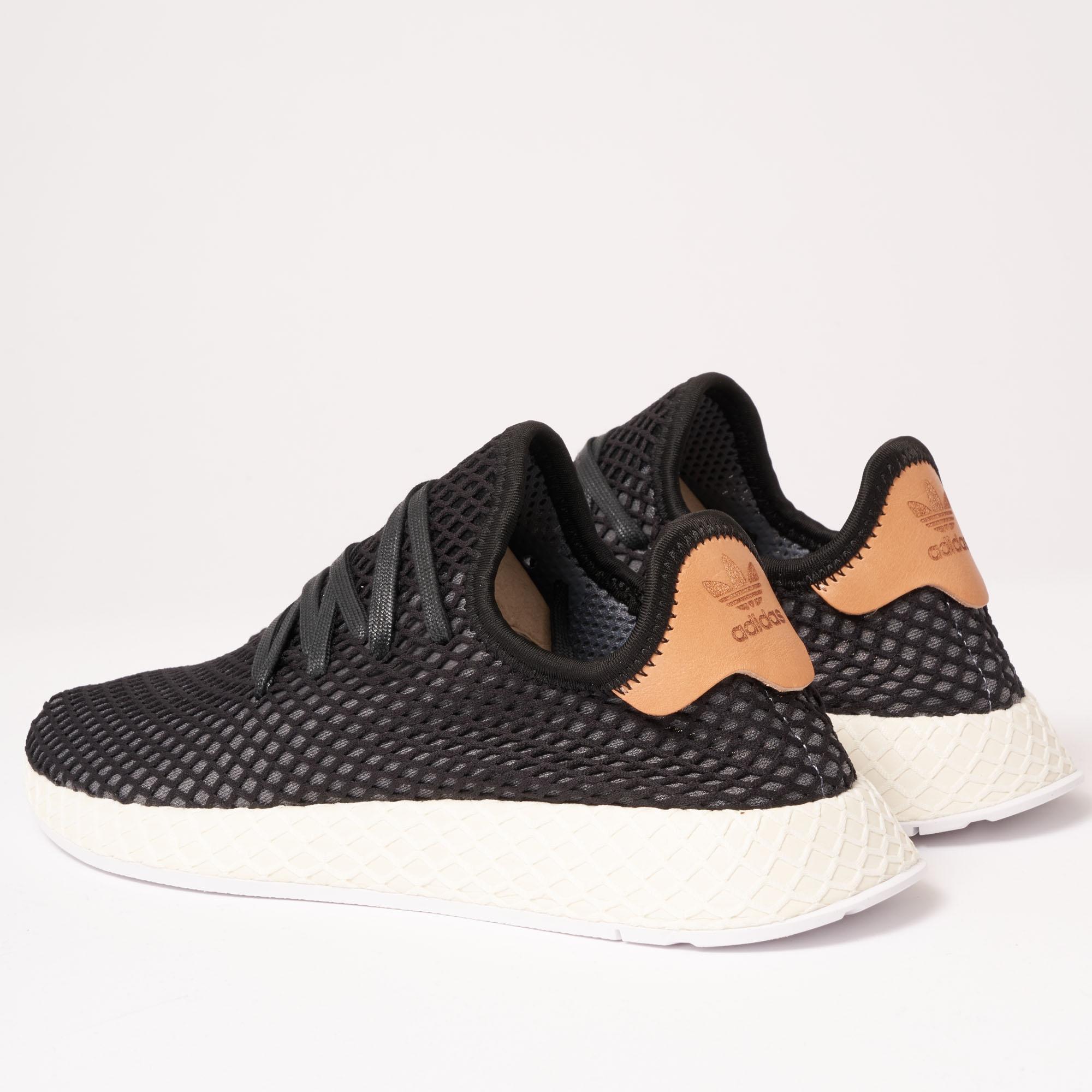 size 40 244eb 6bf4d adidas Originals Deerupt Runner - Core Black   Ash Pearl in Black ...