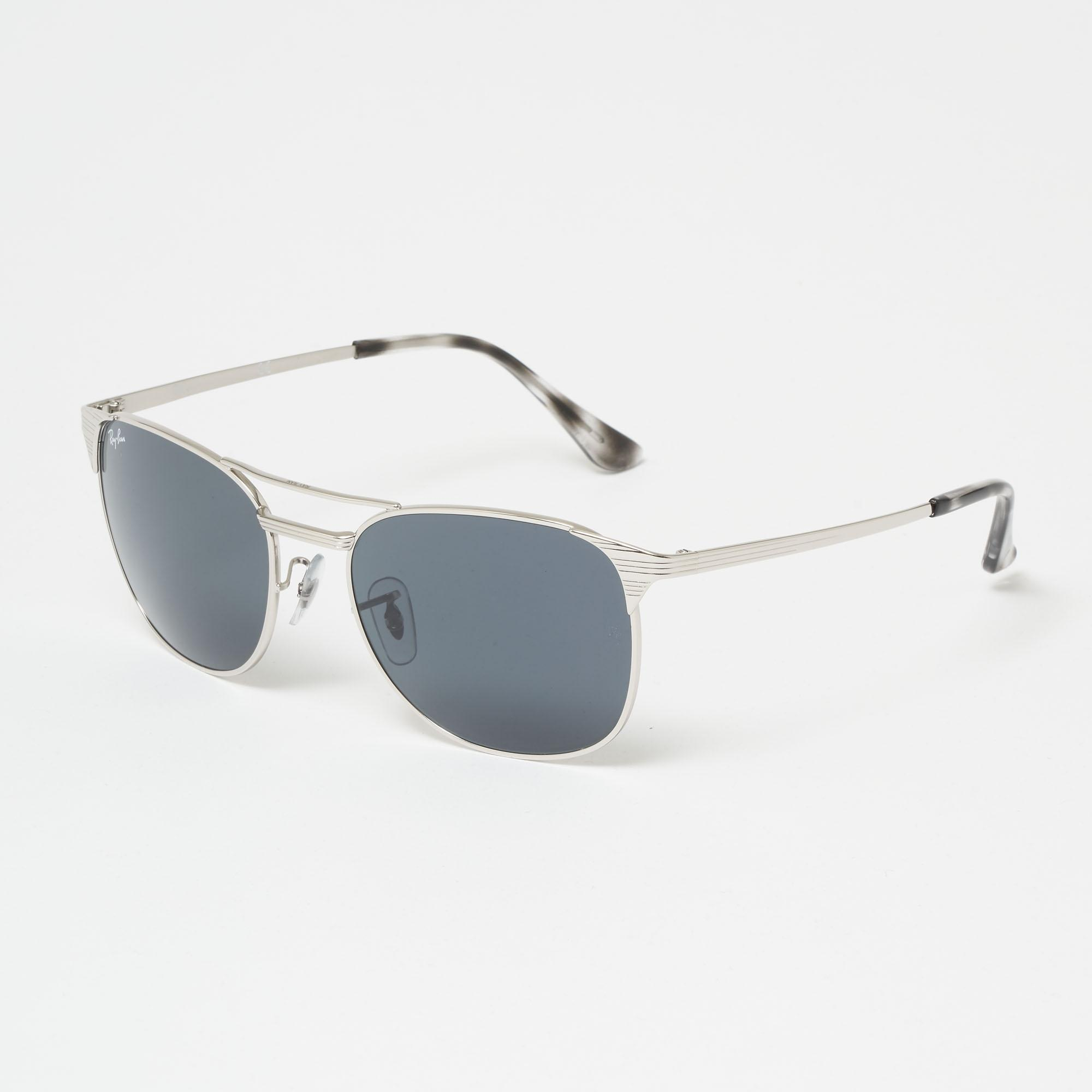 a31e31e21d Lyst - Ray-Ban Chrome Signet Sunglasses - Blue gray Classic Lenses ...