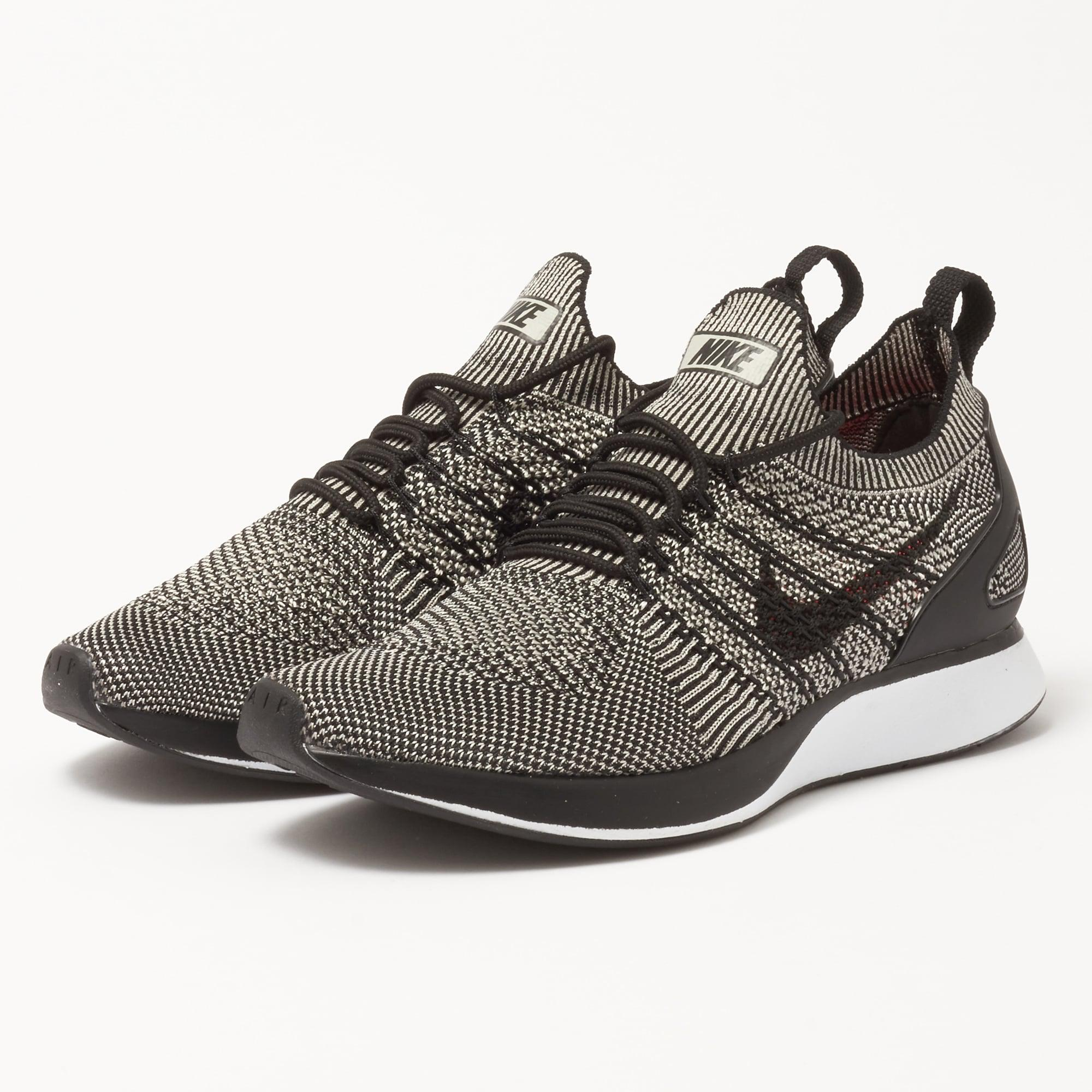 Lyst - Nike Air Zoom Mariah Flyknit Racer - Pale Grey in Black for Men 35e2f8a94
