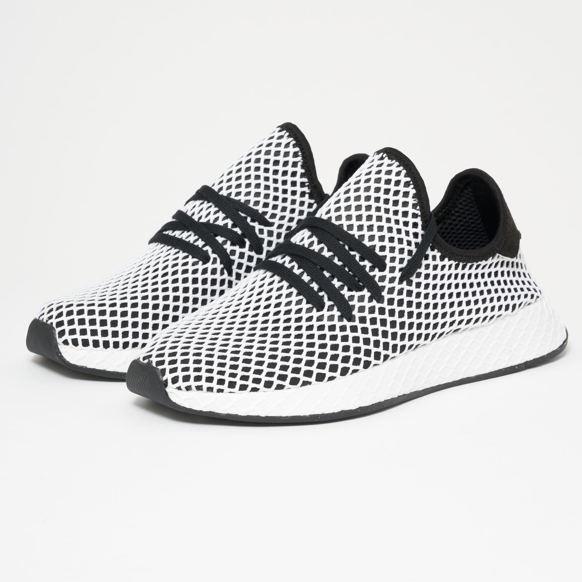 brand new d5b73 fa40a Lyst - adidas Originals Deerupt Runner - Core Black  Ftwr Wh