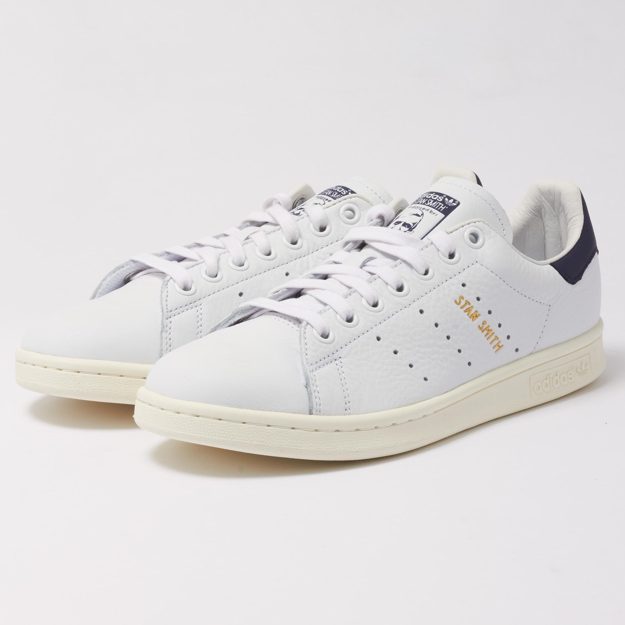 Adidas Originali Stan Smith Ftwr White & Noble Inchiostro In Bianco Lyst