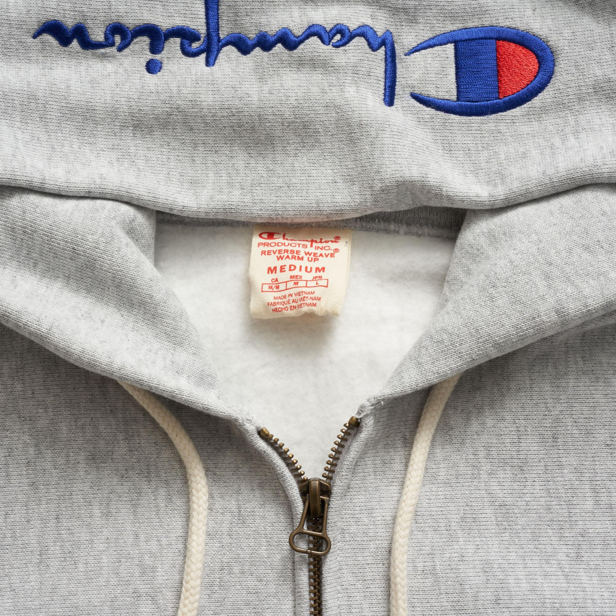 Weave Raveitsafe Champion Reverse Warm Sweatshirt Up v7Yg6fby
