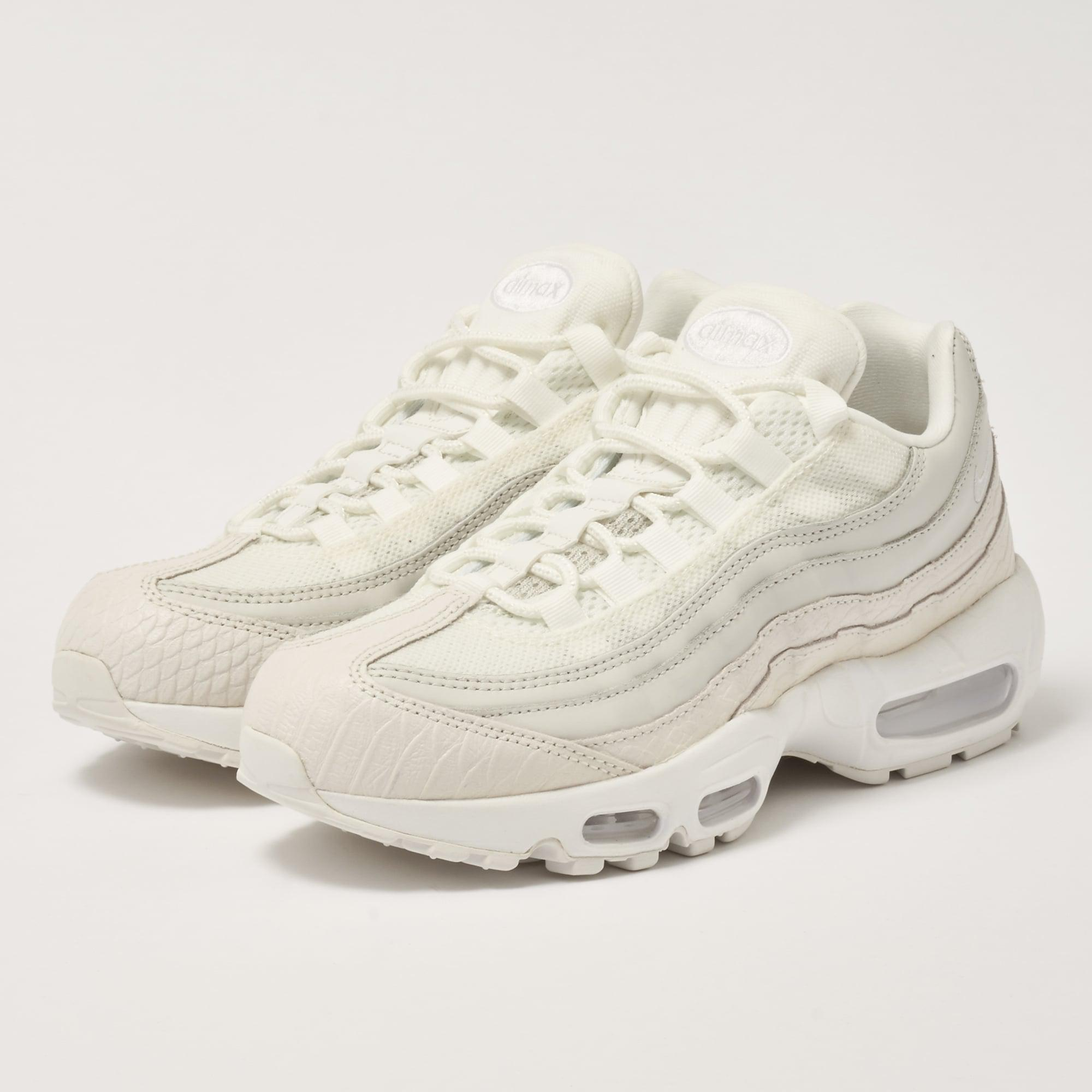 820eb10a78 Nike Air Max 95 Prm - Summit White in White for Men - Lyst
