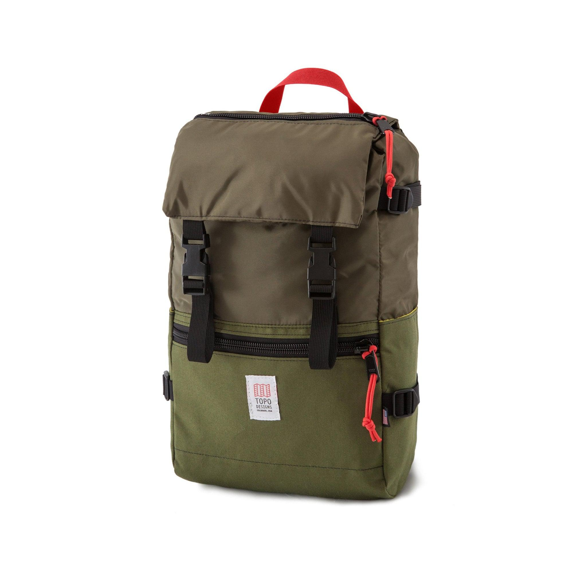 55b937bb9 Topo Designs Topo Design Rover Pack Olive Backpack in Green for Men ...