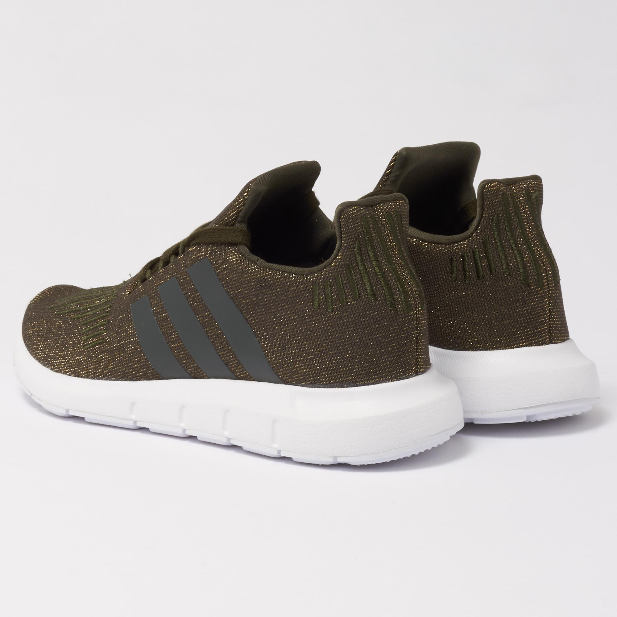 a033869cfc adidas Originals Wmns Swift Run Trainers - Night Cargo in Green for ...