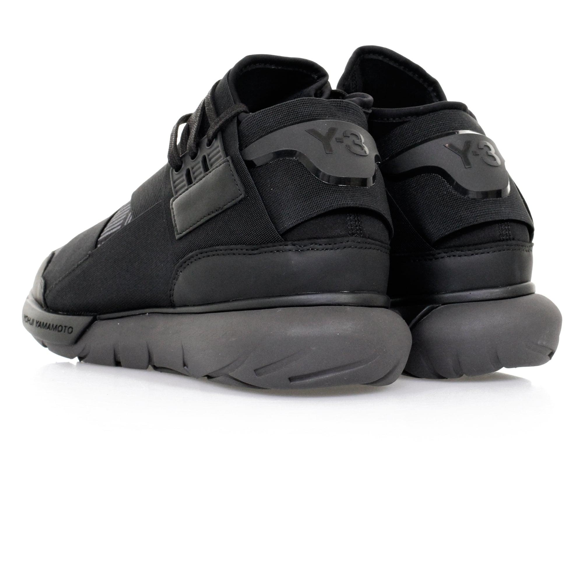 Mens Adidas Y-3 QASA Elle Stretch Sand Shoes  entire collection a0808 02b27  Y-3 Qasa High Utility Black Shoe in Black for Men ... 10144a3da