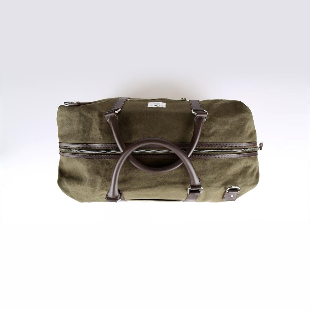 44f9b4169aca Lyst - Sandqvist Jordan Olive Weekend Bag in Brown for Men