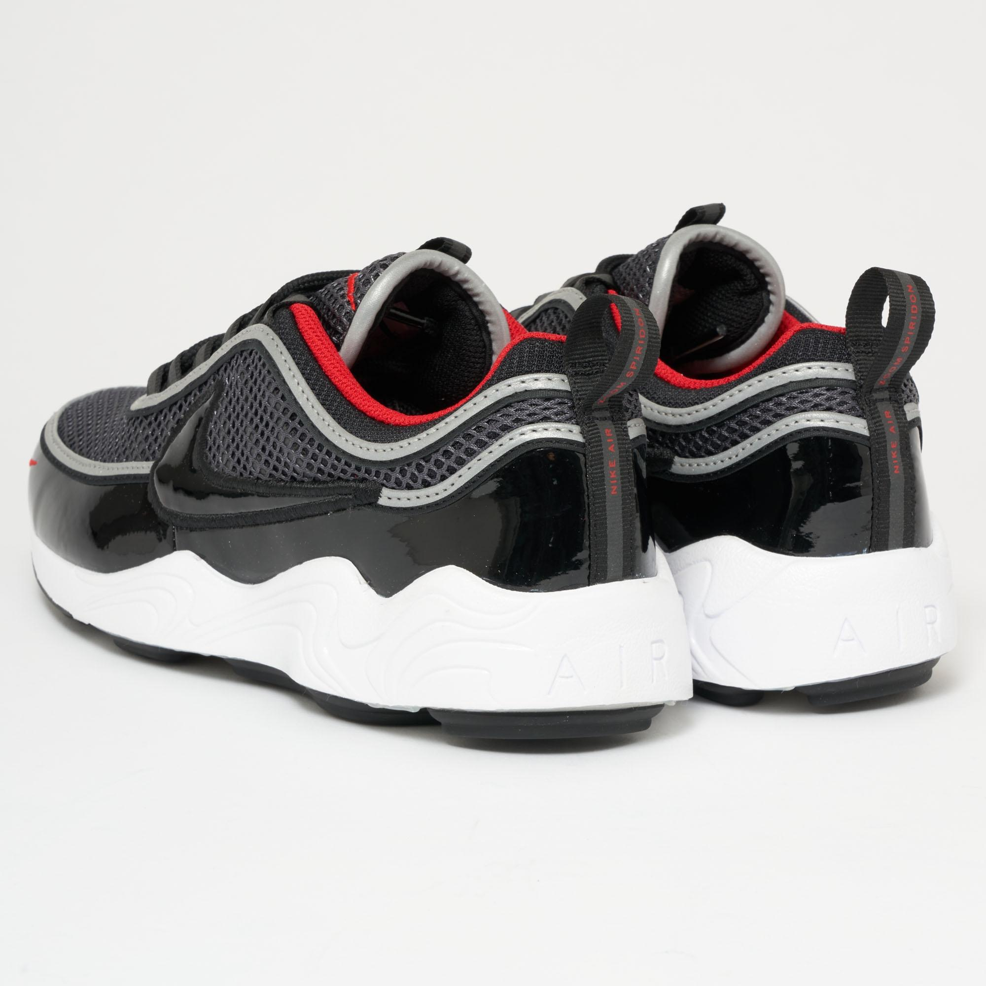 buy online 50f02 4a3a5 Nike Air Zoom Spiridon  16 - Black, University Red   White in Black ...