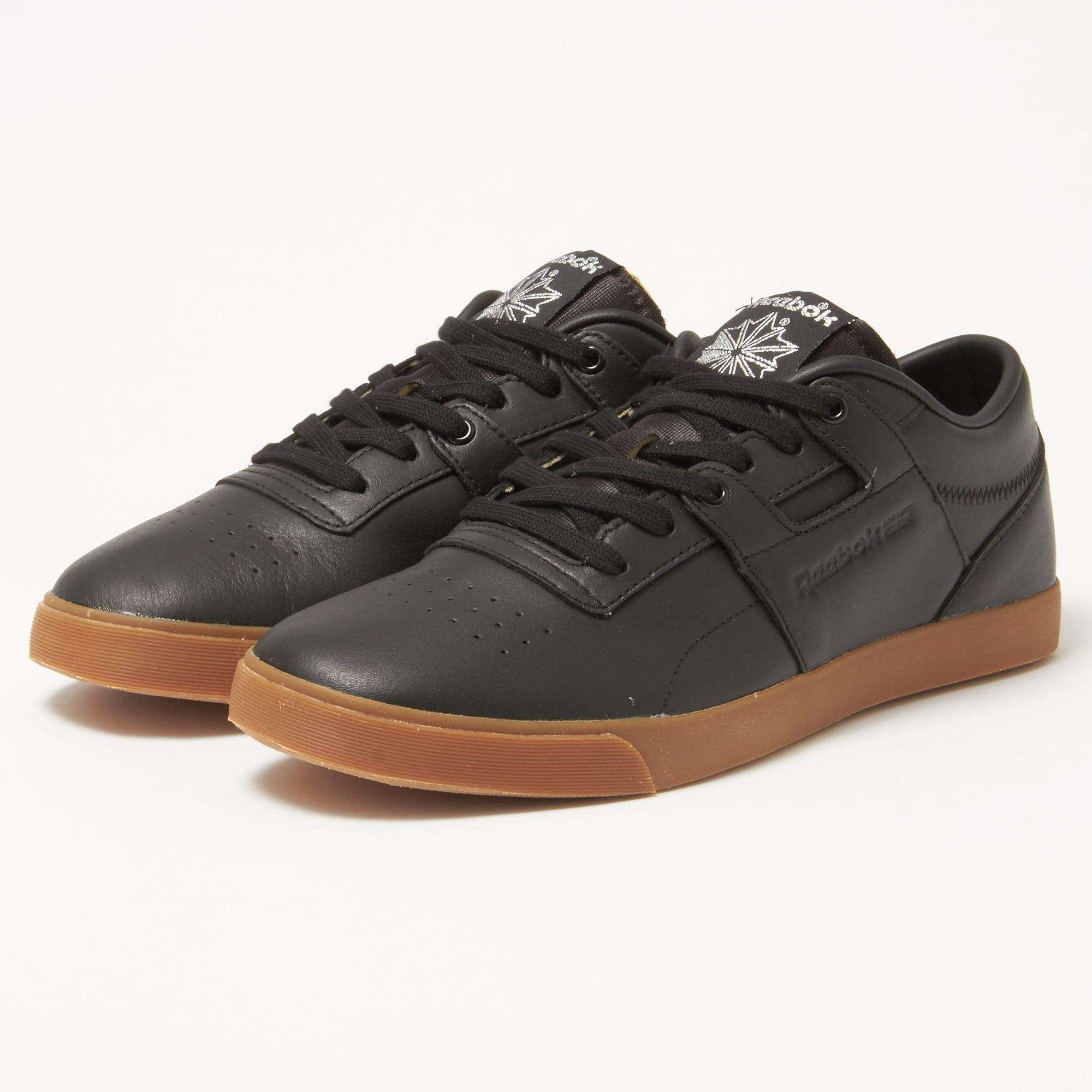 207a14162e Reebok Workout Low Clean Fvs Gum Black Sneakers in Black for Men - Lyst