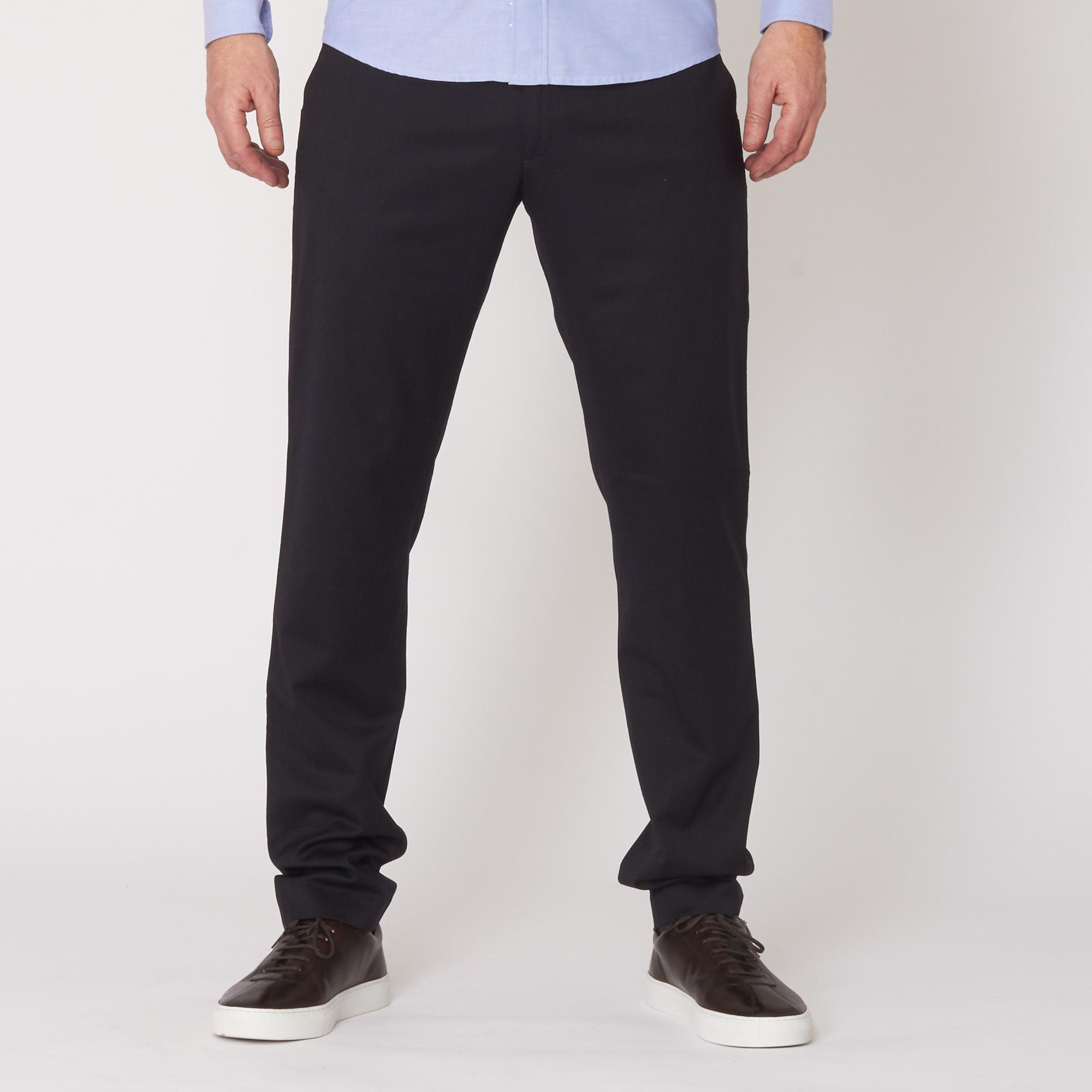 da0bffb843b ... Navy New Theo Trousers - Slim Fit for Men - Lyst. View fullscreen