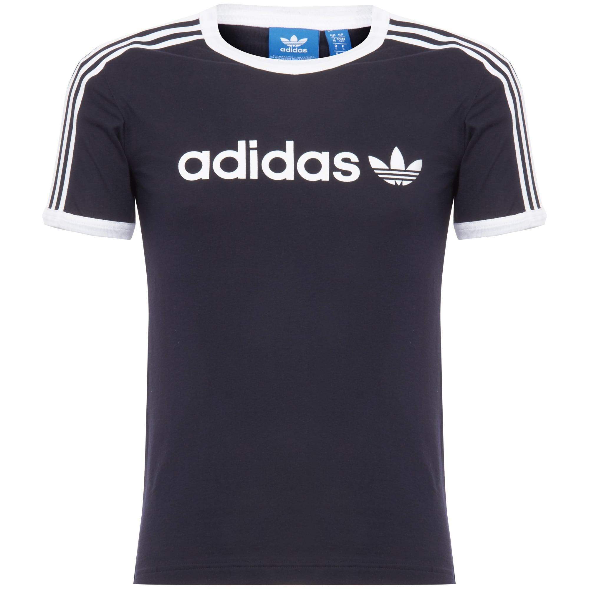 c4b3c231 adidas Originals Linear Trefoil T-shirt in Blue for Men - Save 56 ...