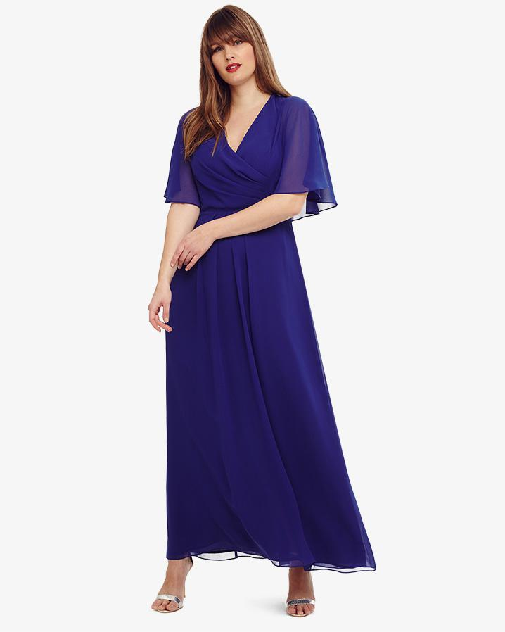 Studio 8 Opal Maxi Bridesmaid Dress in Blue