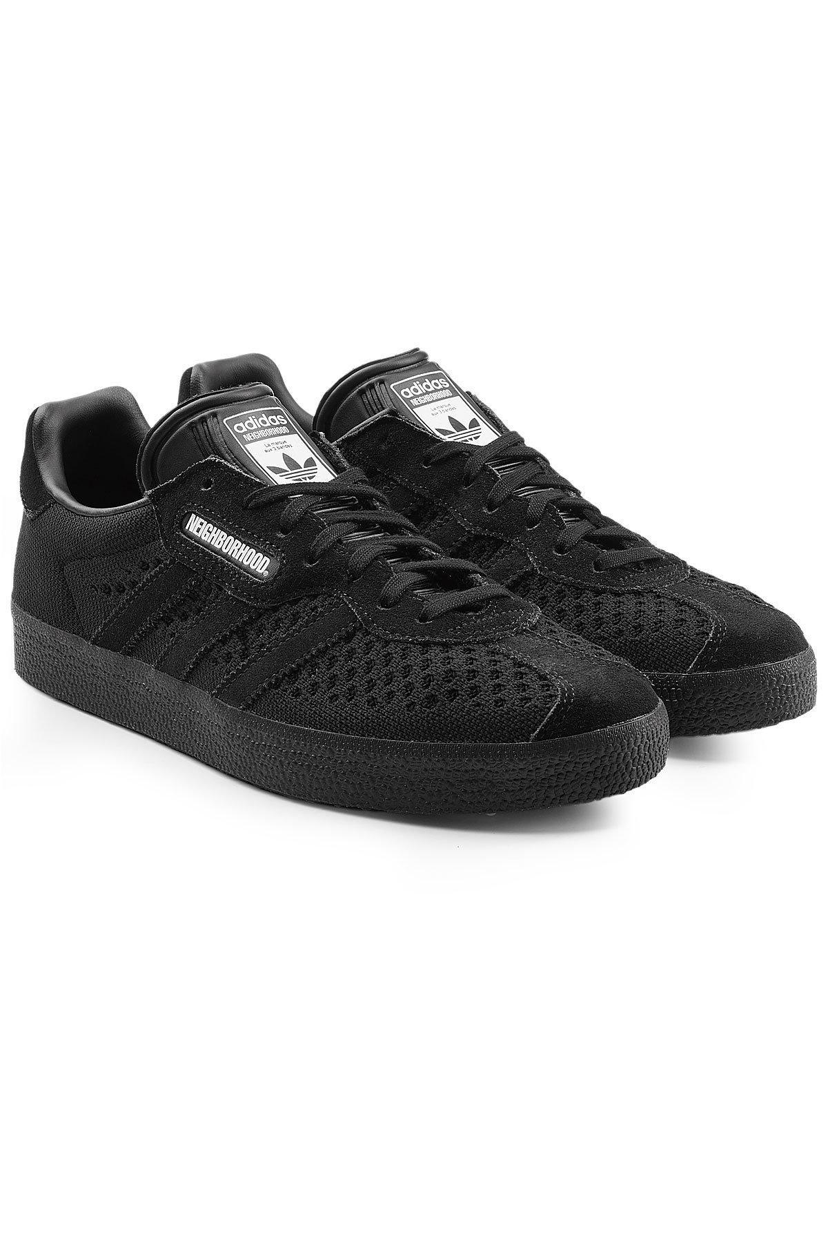 adidas originali gazzella super sneakers in nero per gli uomini lyst