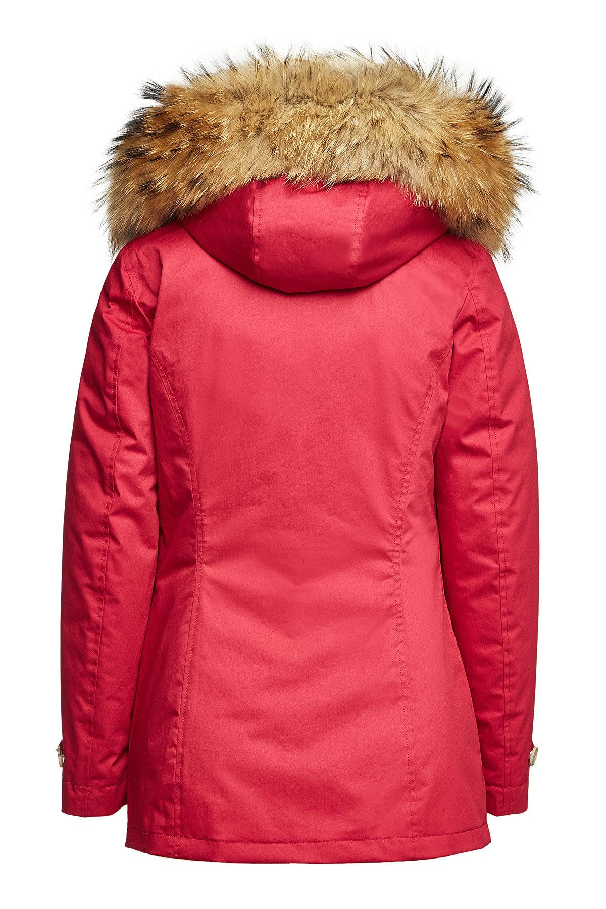 6764cfd16 Lyst - Woolrich 3-in-1 Arctic Cotton Down Parka With Fur-trimmed ...
