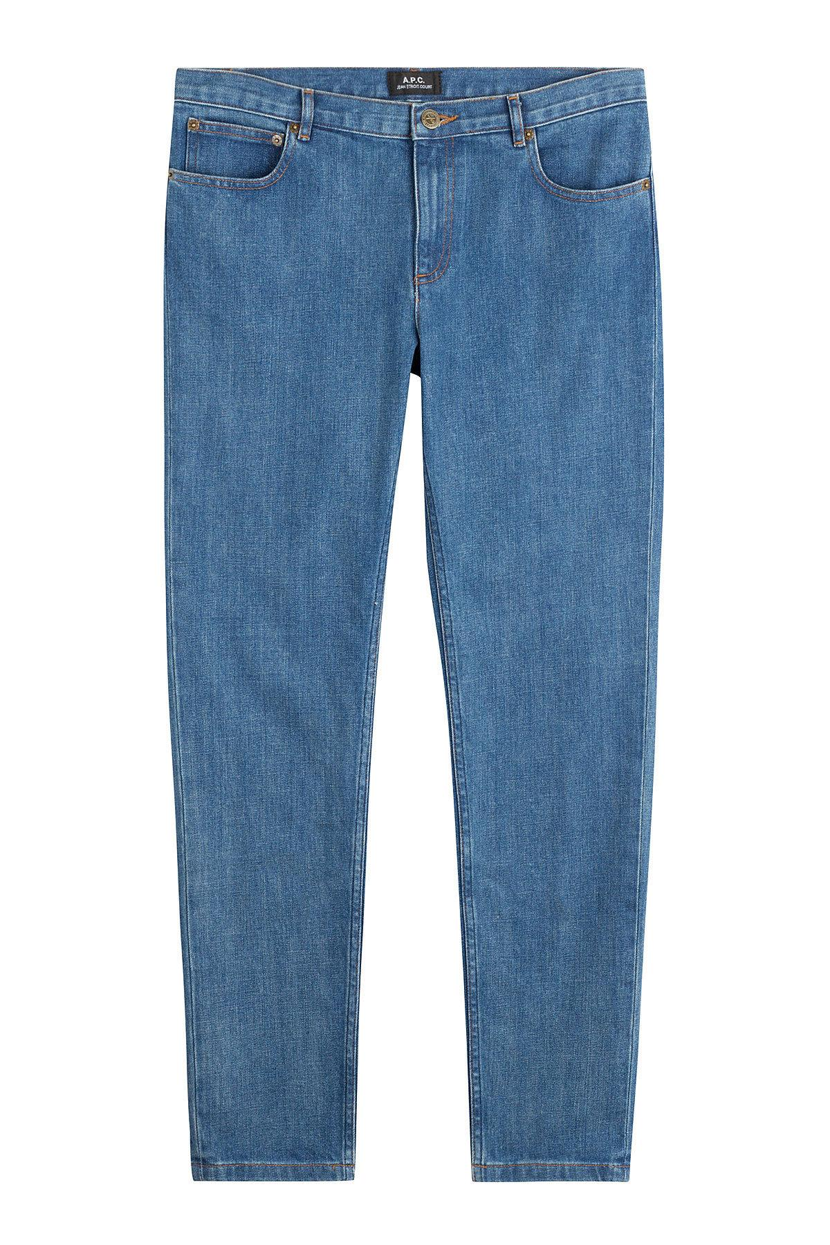 Lyst - A.P.C. Ankle Length Jeans in Blue for Men