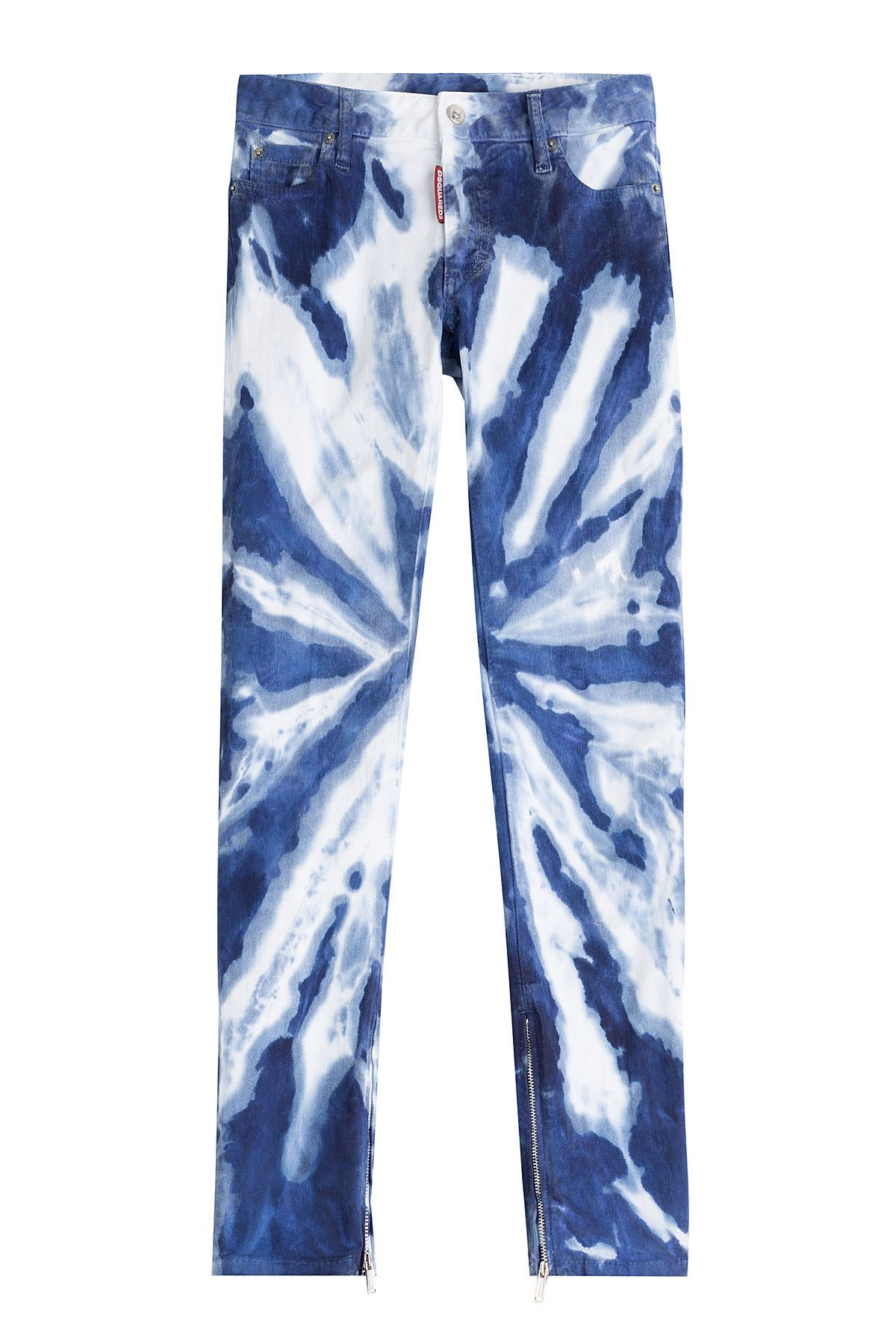 dsquared tie dye jeans blue in blue lyst. Black Bedroom Furniture Sets. Home Design Ideas